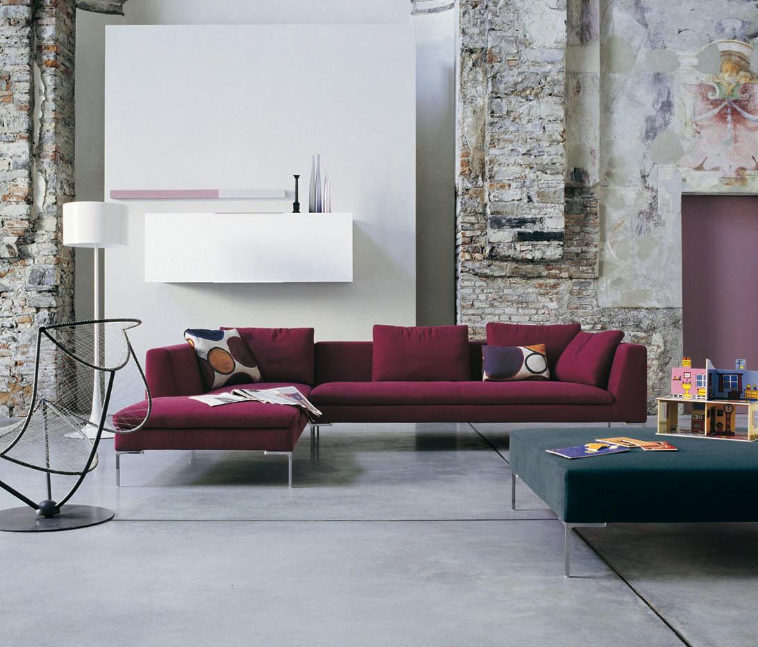 Charles ch156s ch156d lounge sofas from b b italia architonic B b italia charles sofa