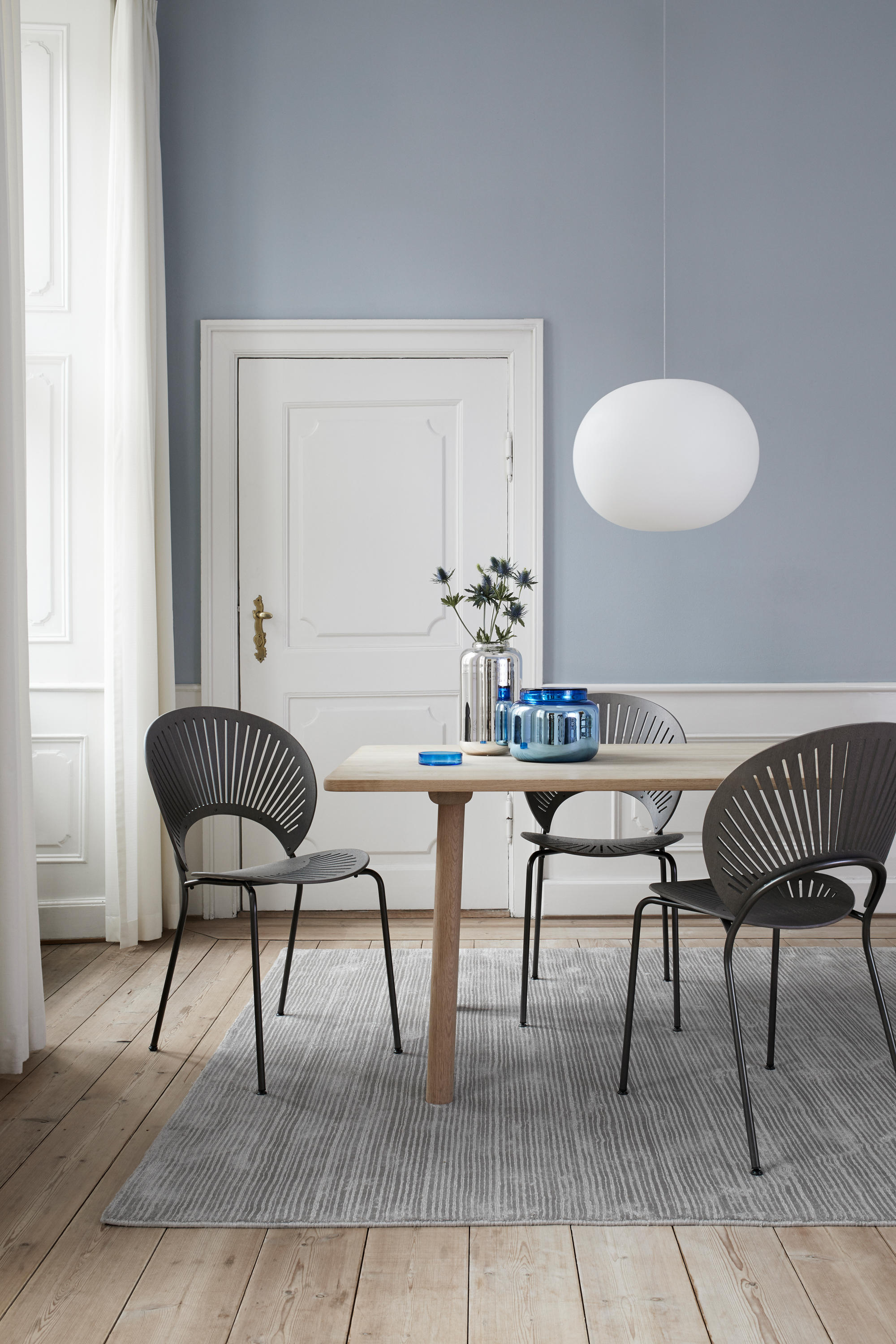 TRINIDAD CHAIR - SEAT UPHOLSTERED - Chairs from Fredericia ...