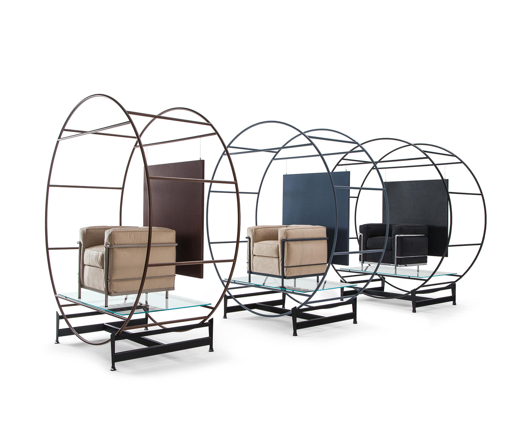 LC2 MAISON LA ROCHE - Lounge chairs from Cassina | Architonic