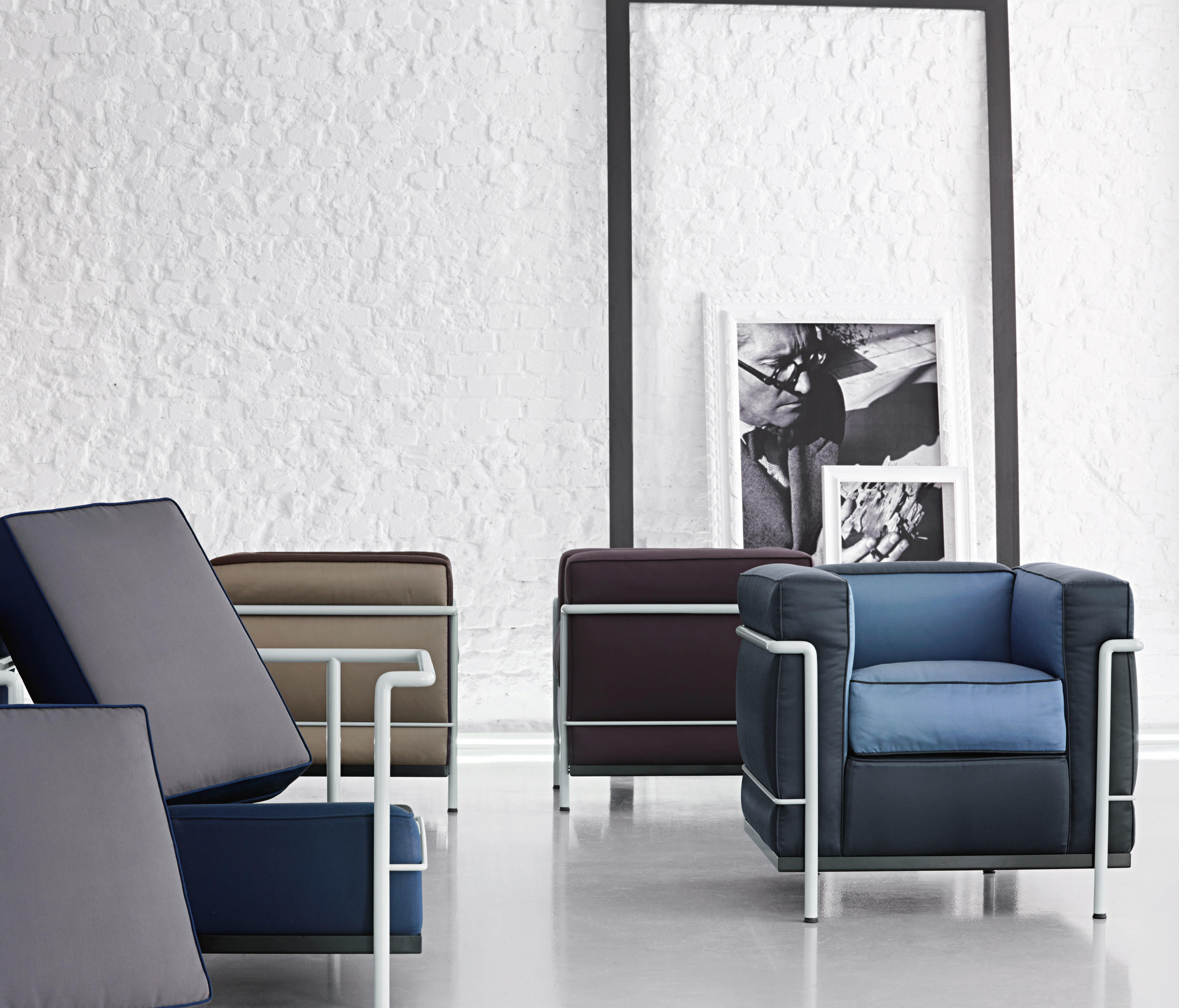 Lc2 Maison La Roche Armchairs From Cassina Architonic