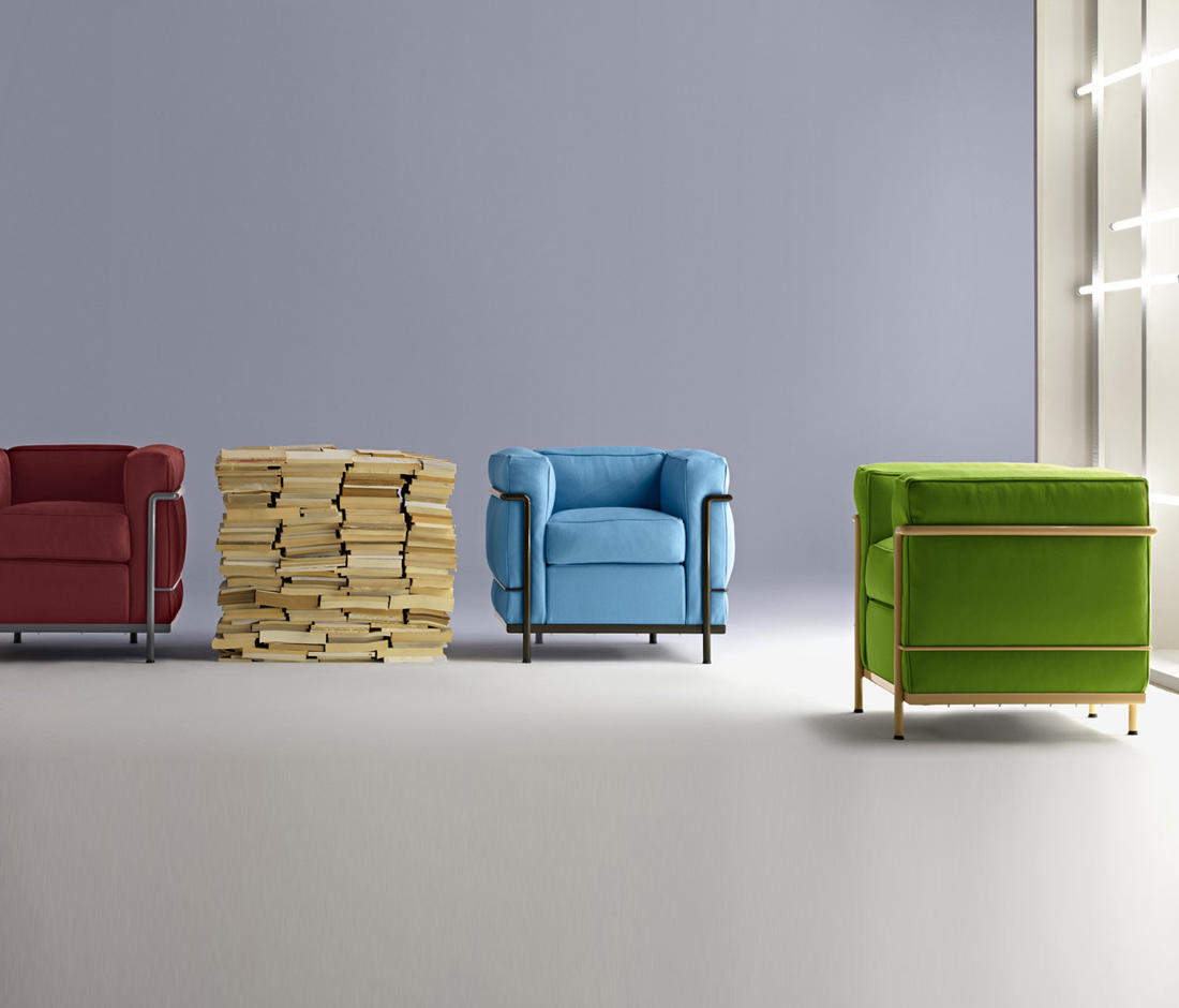 Lc2 Maison La Roche Lounge Chairs From Cassina Architonic