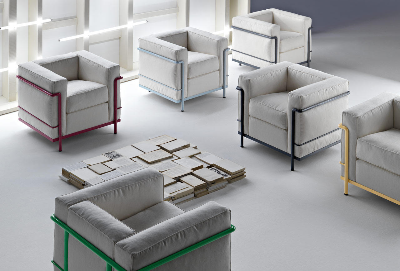 LC2 MAISON LA ROCHE - Lounge chairs from Cassina  Architonic