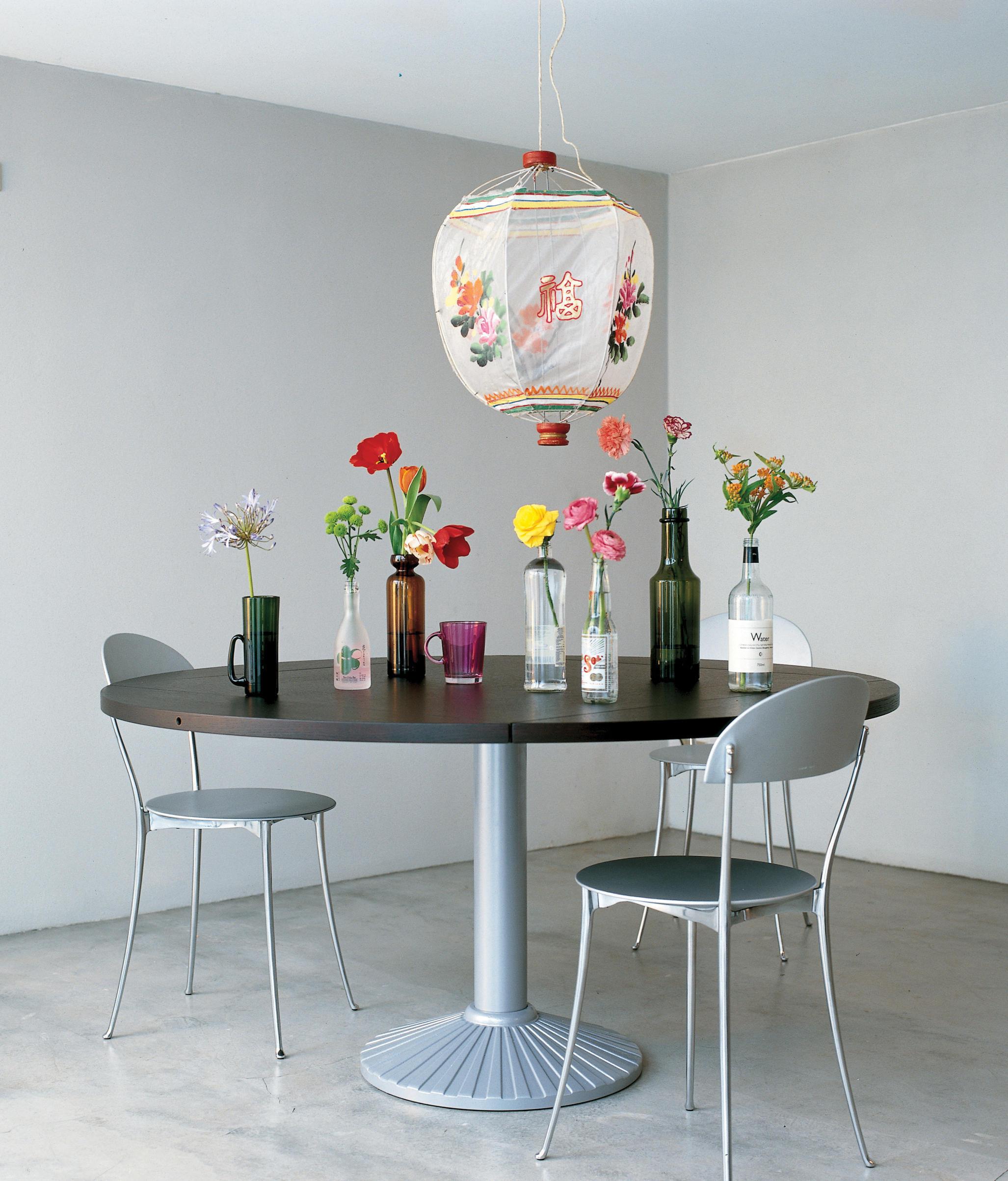 Quadritondo 2550 tavoli da pranzo zanotta architonic for Produttori tavoli