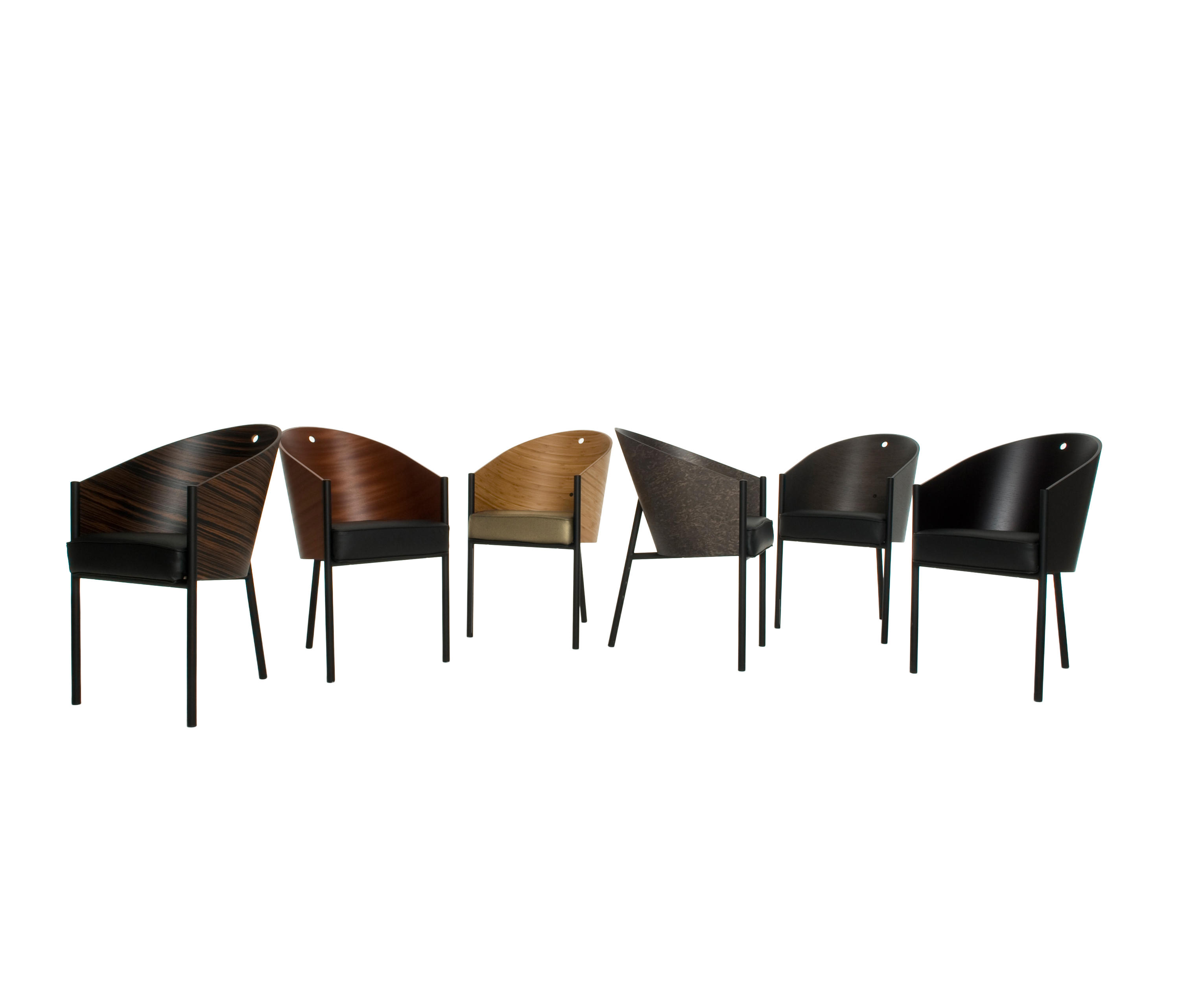 Costes Easychair Mogano Visitors Chairs Side Chairs