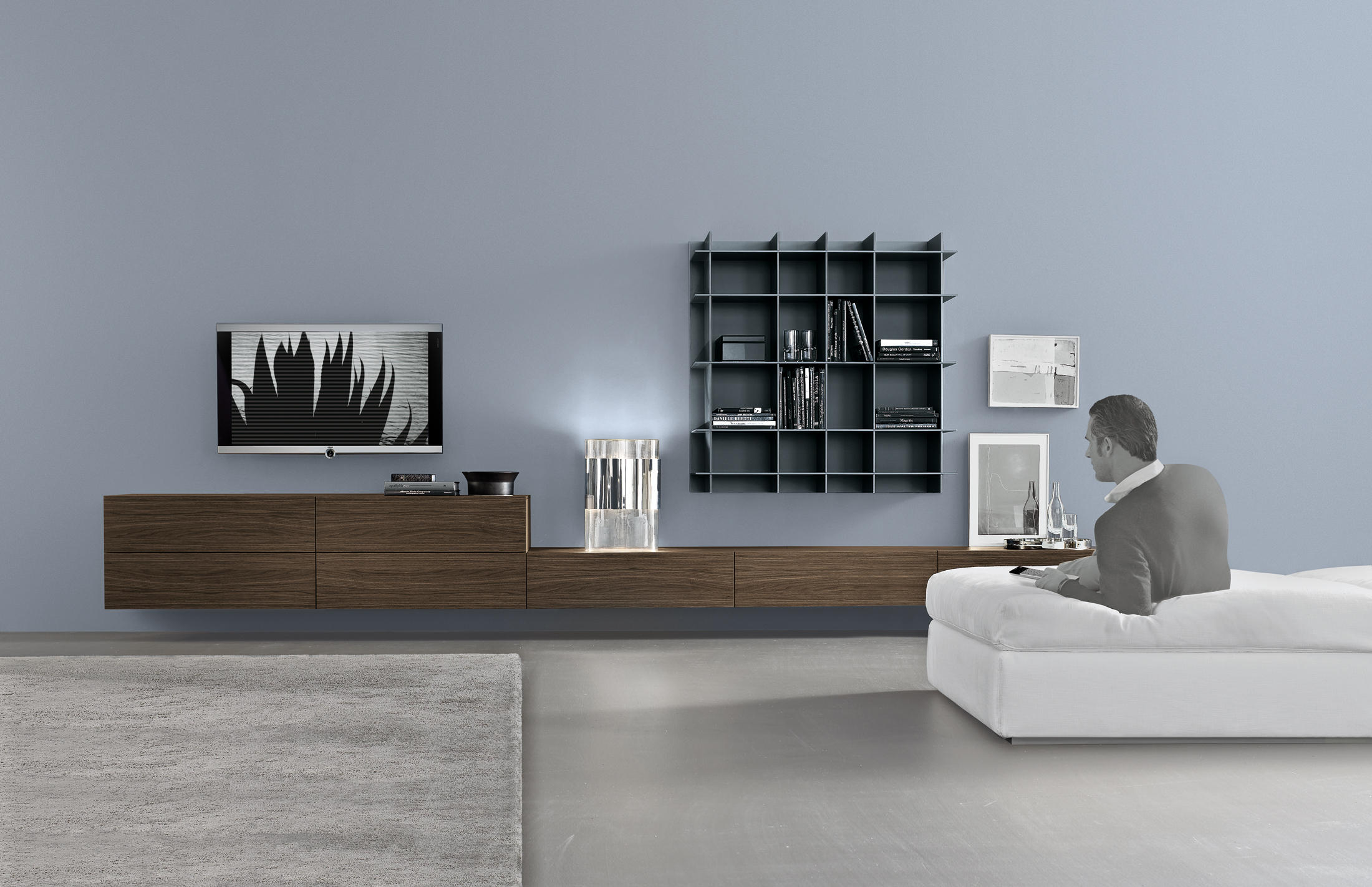sintesi system wall storage systems from poliform architonic. Black Bedroom Furniture Sets. Home Design Ideas