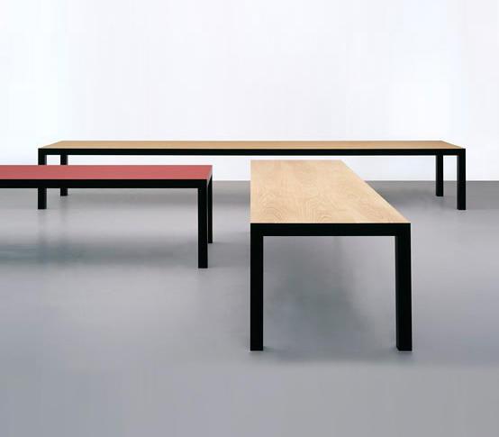 langer tisch esstische von oswald architonic. Black Bedroom Furniture Sets. Home Design Ideas