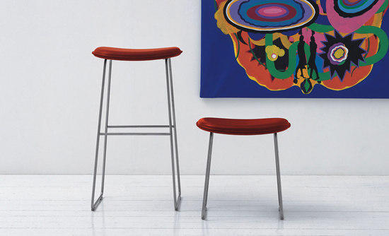 Surprising Morrison Stool Bar Stools From Cappellini Architonic Squirreltailoven Fun Painted Chair Ideas Images Squirreltailovenorg