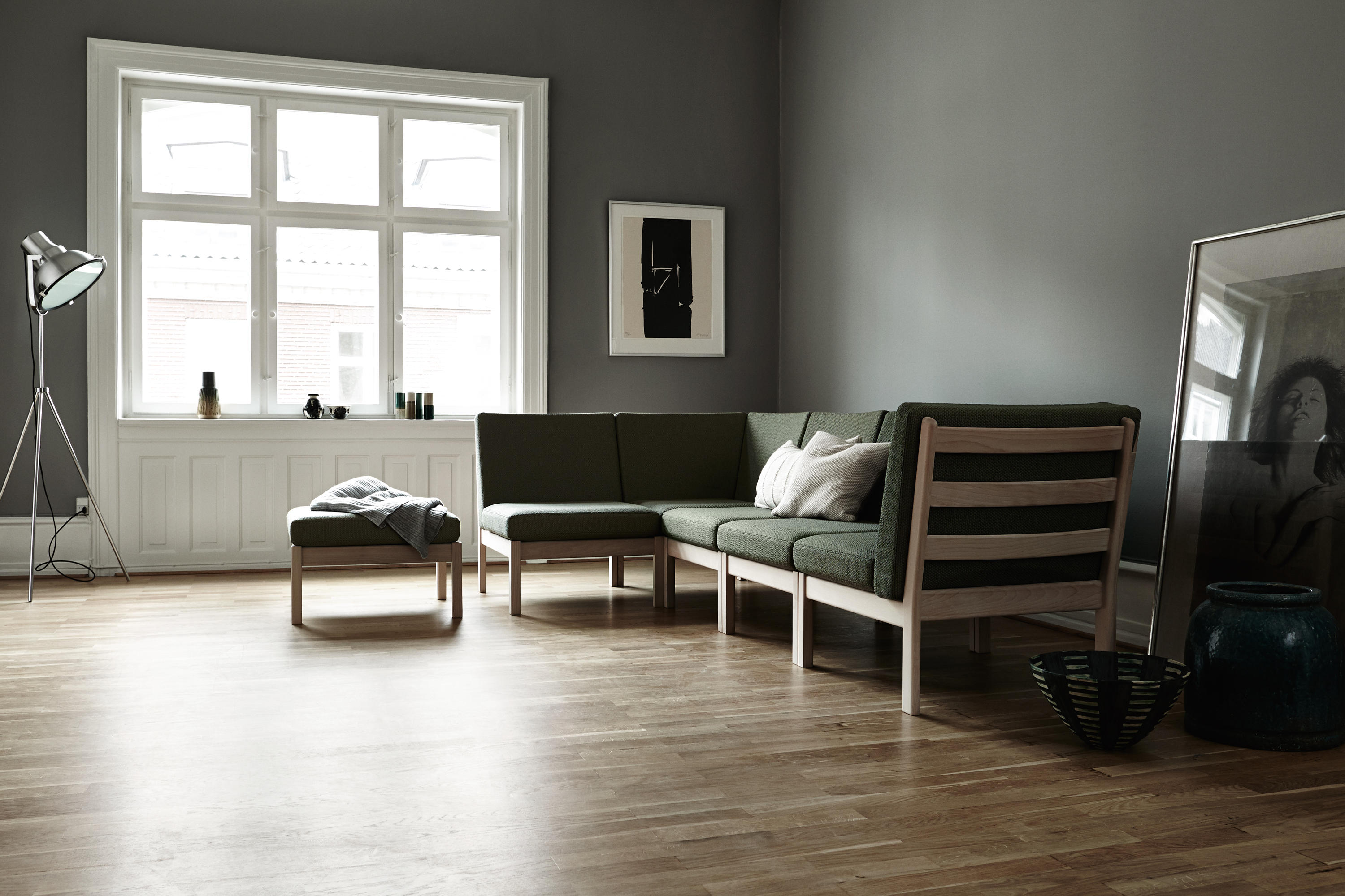 Ge 280 Modular Couch Sofas From Getama Danmark Architonic