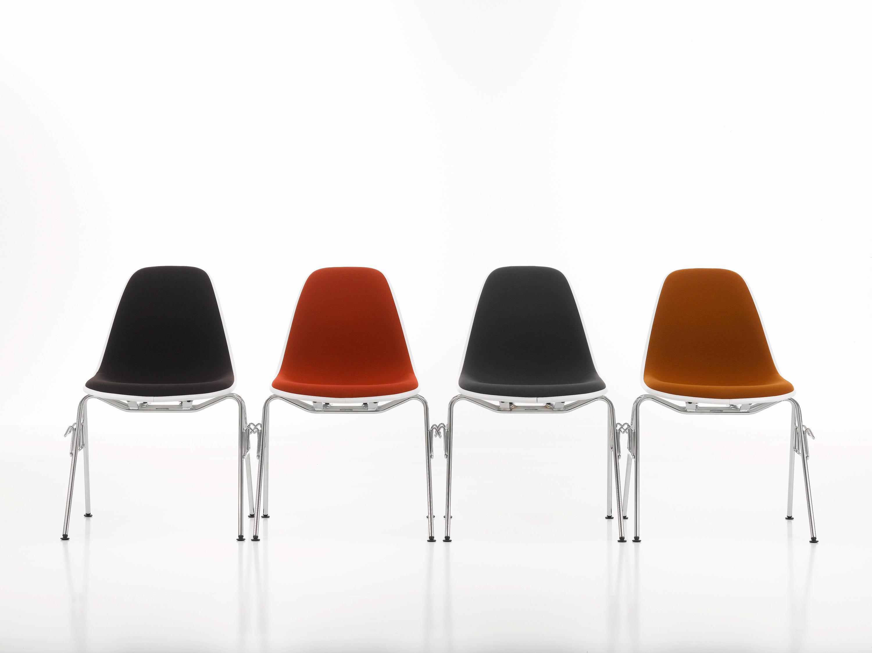 Sedie Ufficio Eames : Eames plastic side chair dsr sedie multiuso vitra architonic