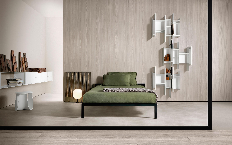 Aluminium Bed Laccato Betten Von Mdf Italia Architonic