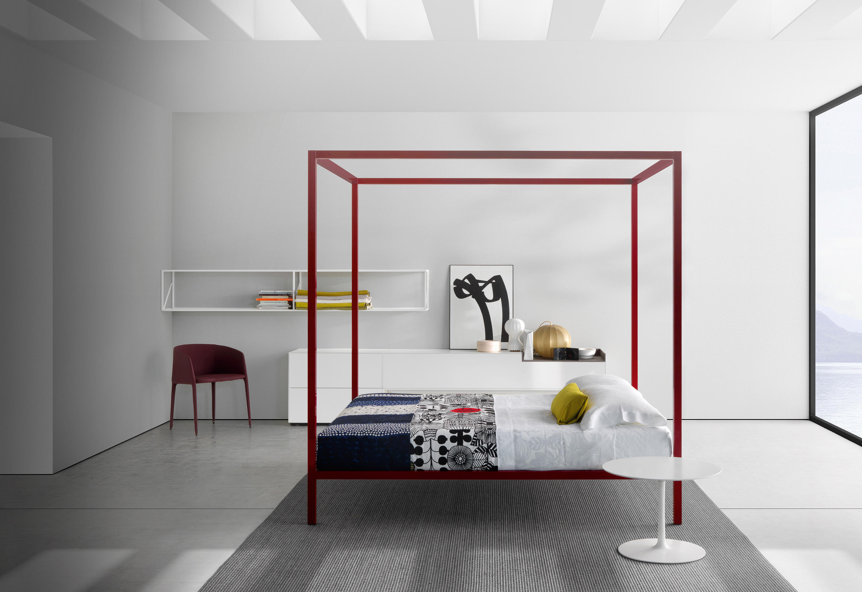 aluminium bed laccato doppelbetten von mdf italia architonic. Black Bedroom Furniture Sets. Home Design Ideas