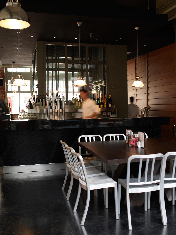 sustainable restaurant furniture. Heritage Stacking Chair By Emeco Sustainable Restaurant Furniture