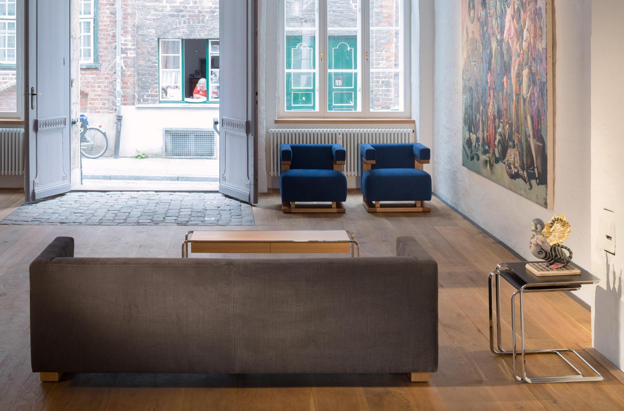 f51 gropius armchair sillones de tecta architonic. Black Bedroom Furniture Sets. Home Design Ideas