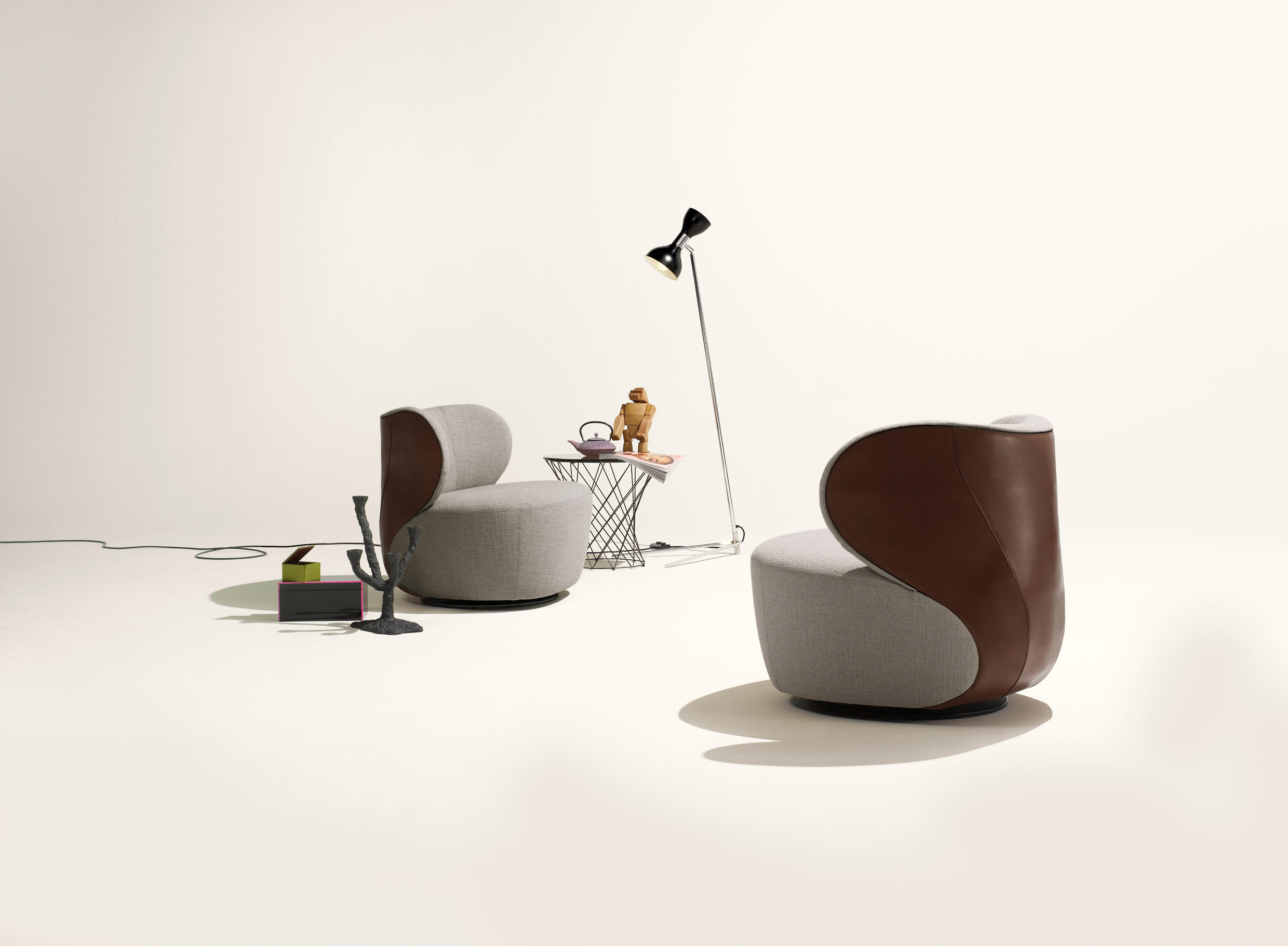 BAO ARMCHAIR Lounge chairs from Walter Knoll