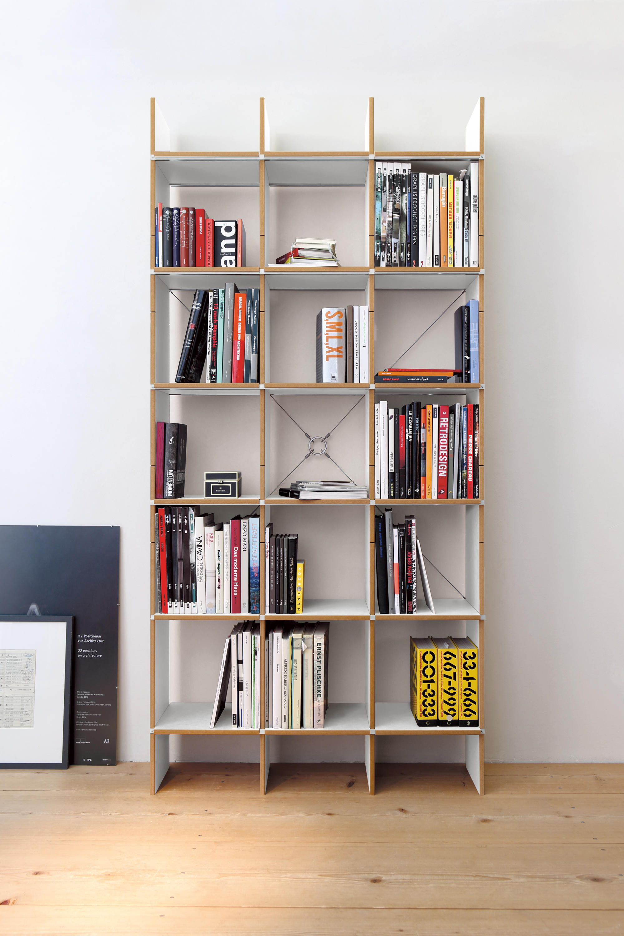 Fnp office shelving systems from moormann architonic for Sideboard regal