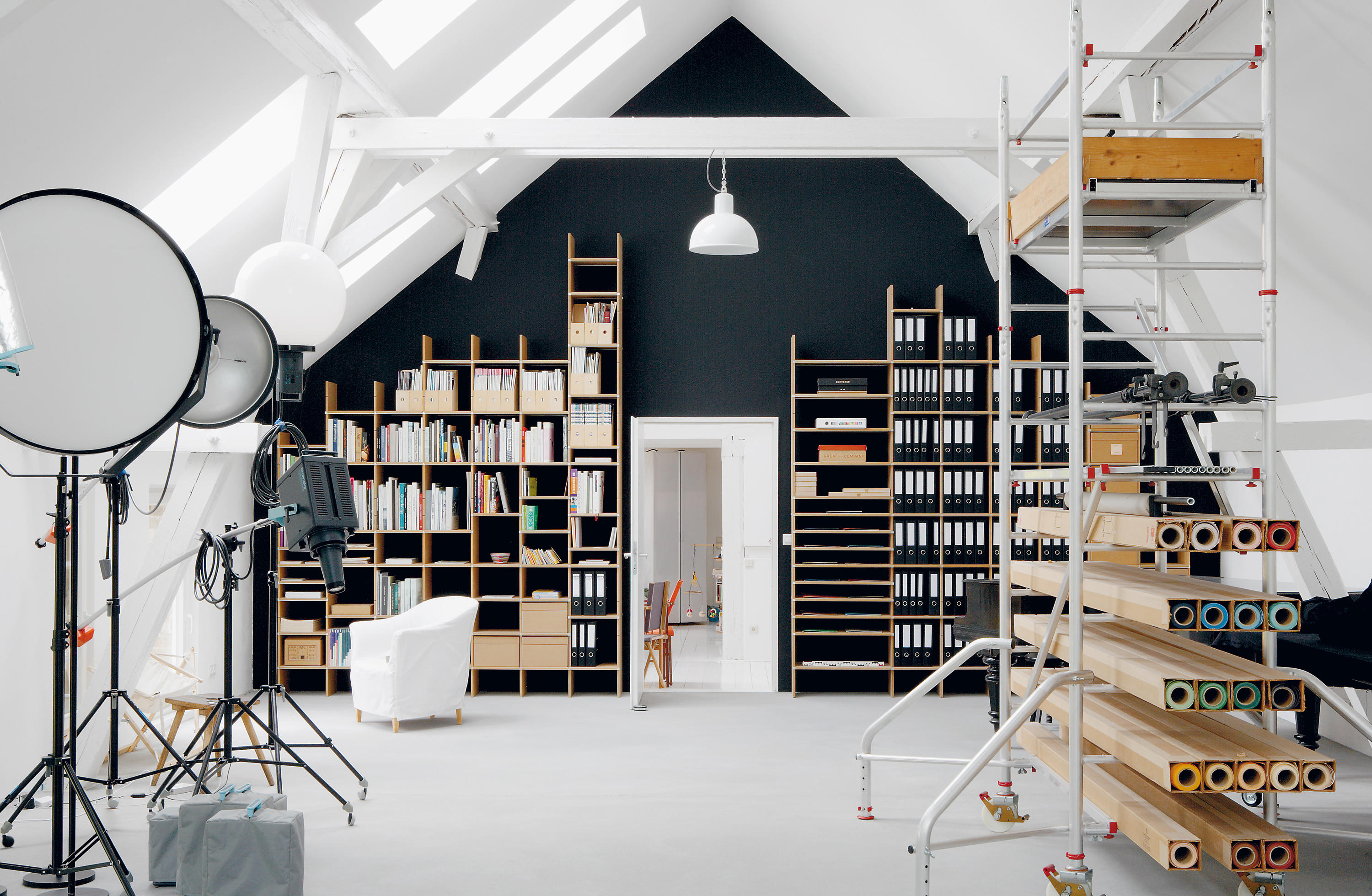Fnp Office Shelving Systems From Moormann Architonic