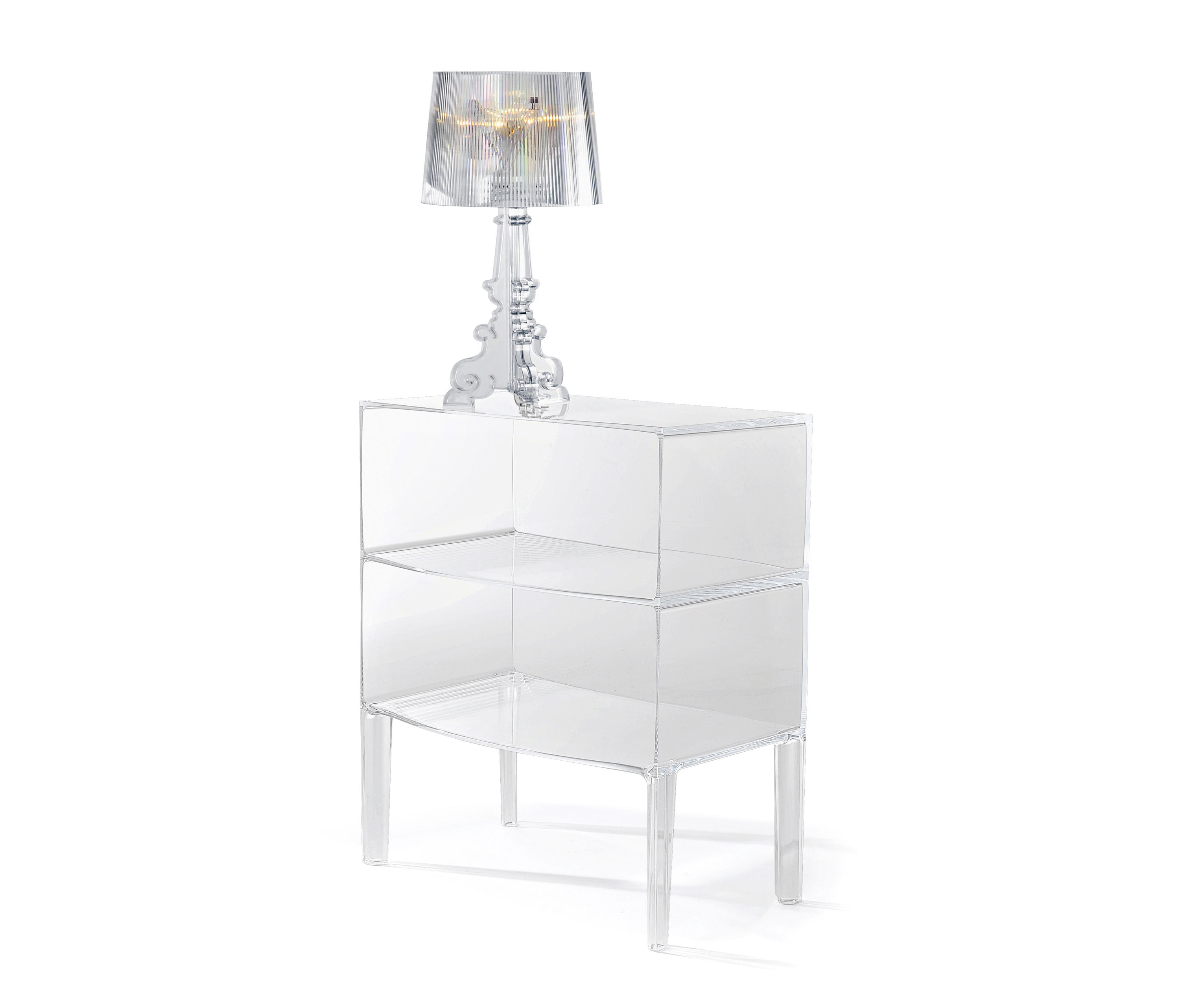 Comodino Ghost Buster Kartell.Small Ghost Buster Side Tables From Kartell Architonic