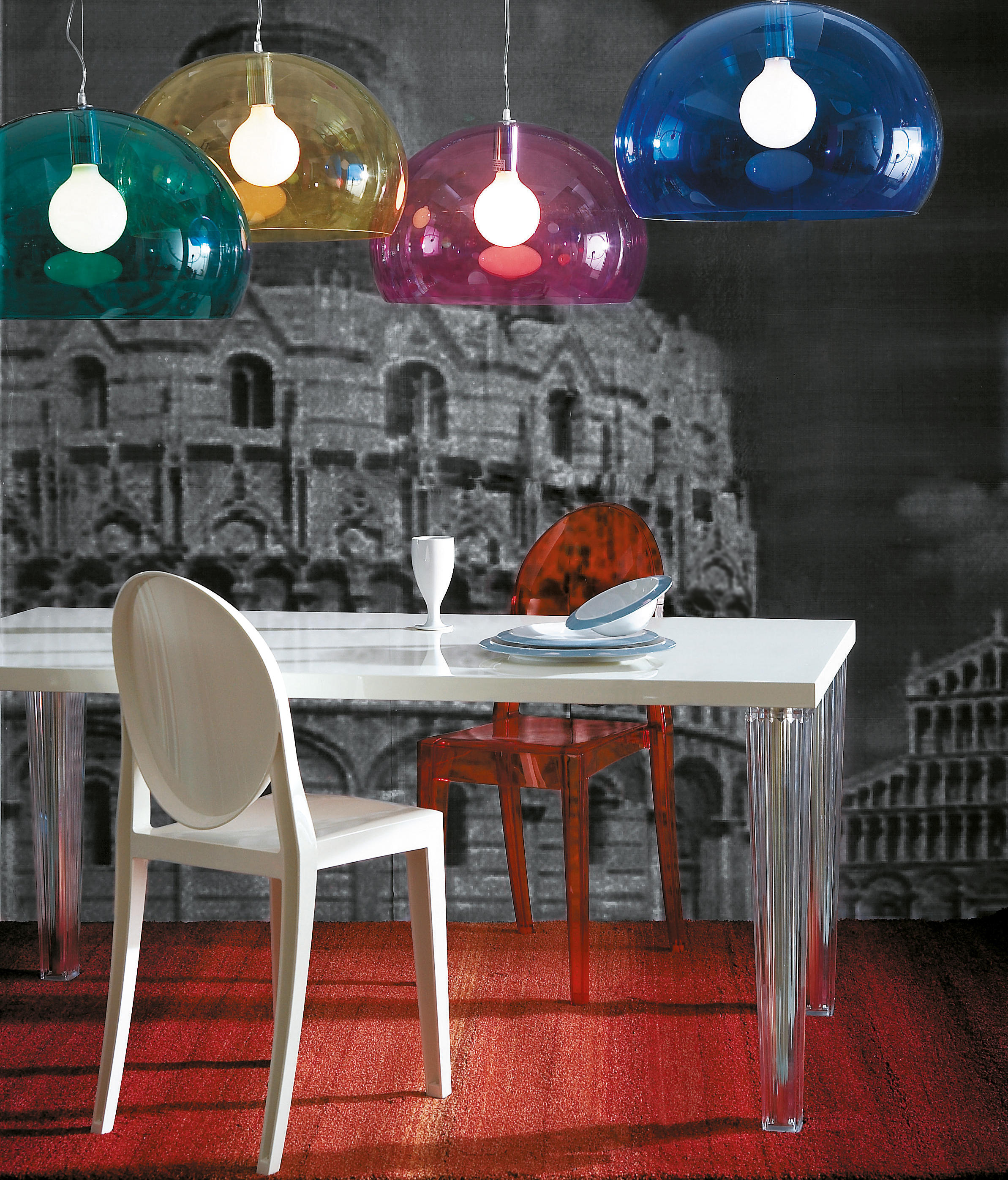FL/Y - Suspended lights from Kartell | Architonic