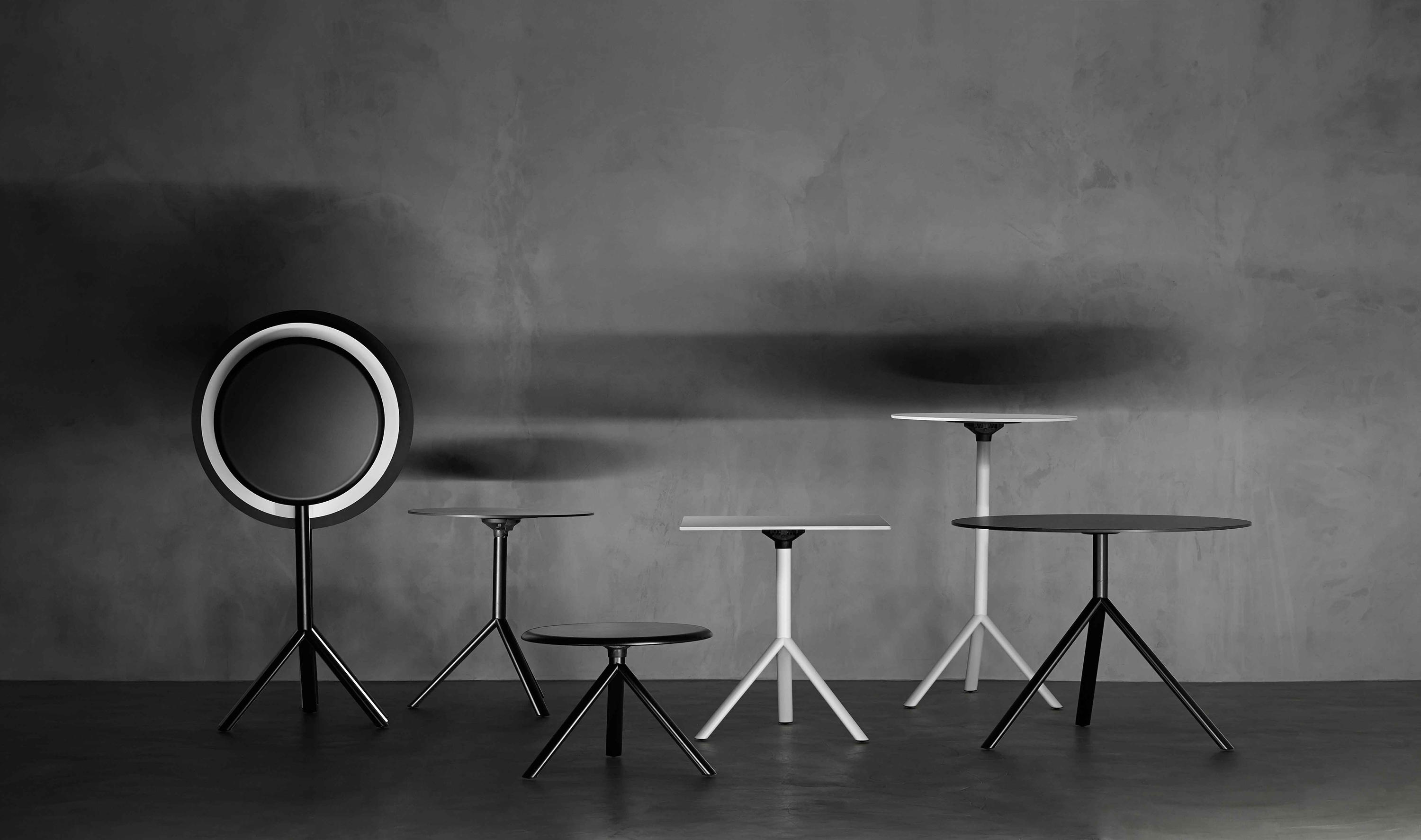 Miura Round Table Dining Tables From Plank Architonic