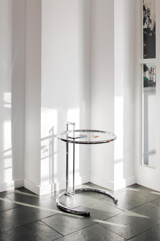 ADJUSTABLE TABLE E 1027 Beistelltische Von ClassiCon