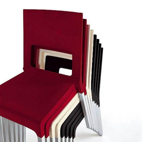 Face silla sillas multiusos de kristalia architonic for Sillas para facial