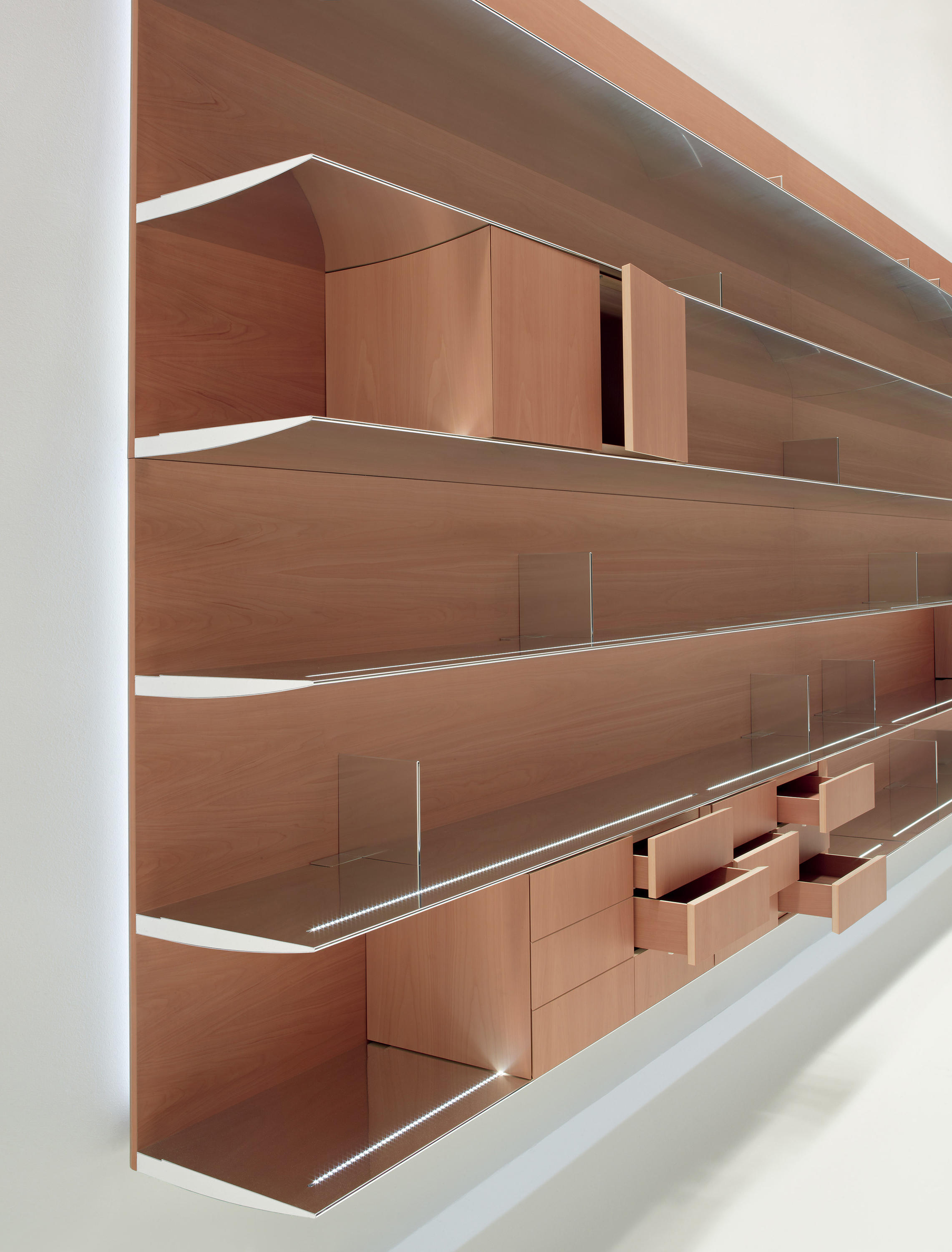 Naos wall storage systems from unifor architonic for Unifor turate