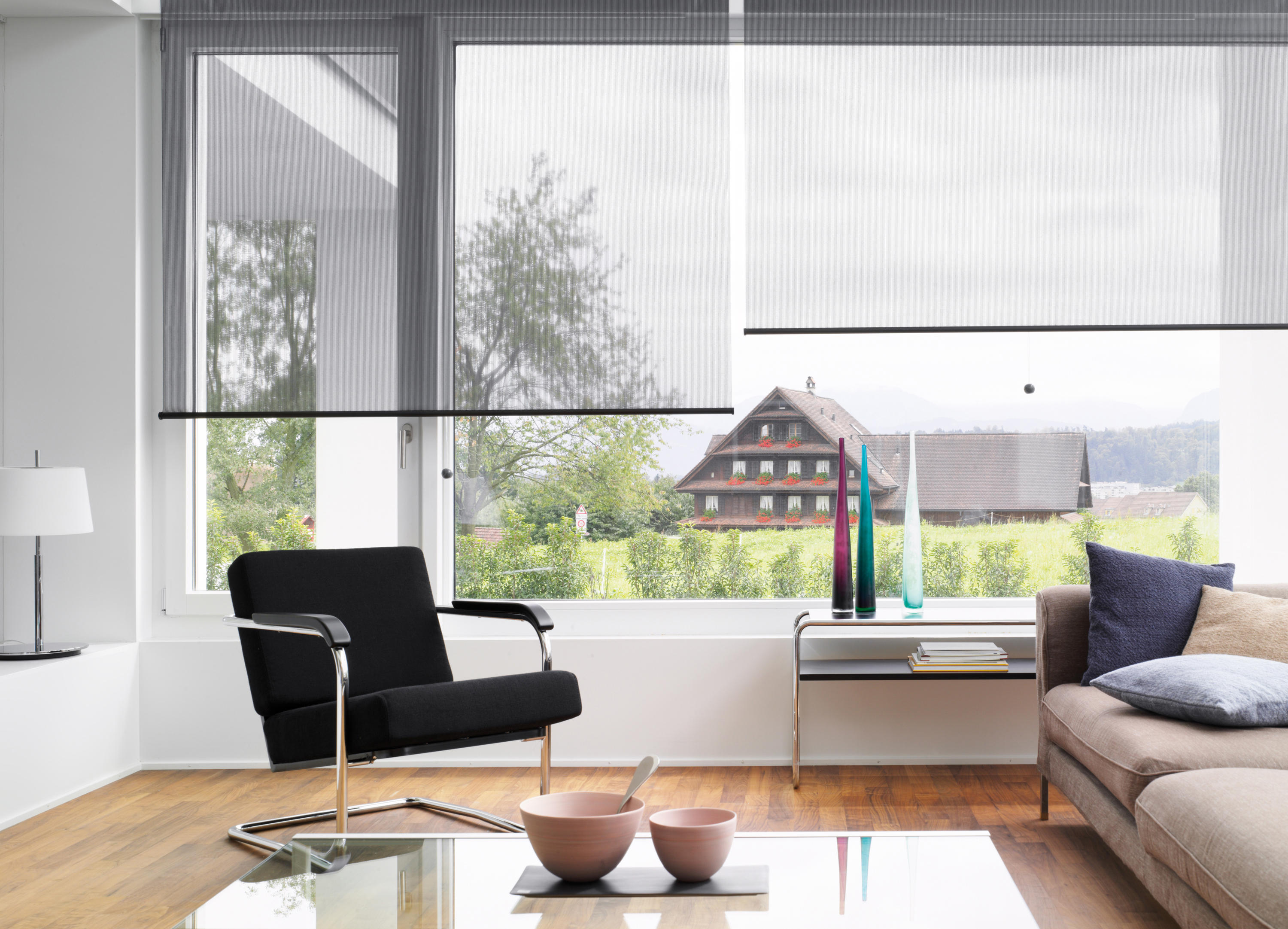 Roller Blind System Silent Gliss 4840 Architonic