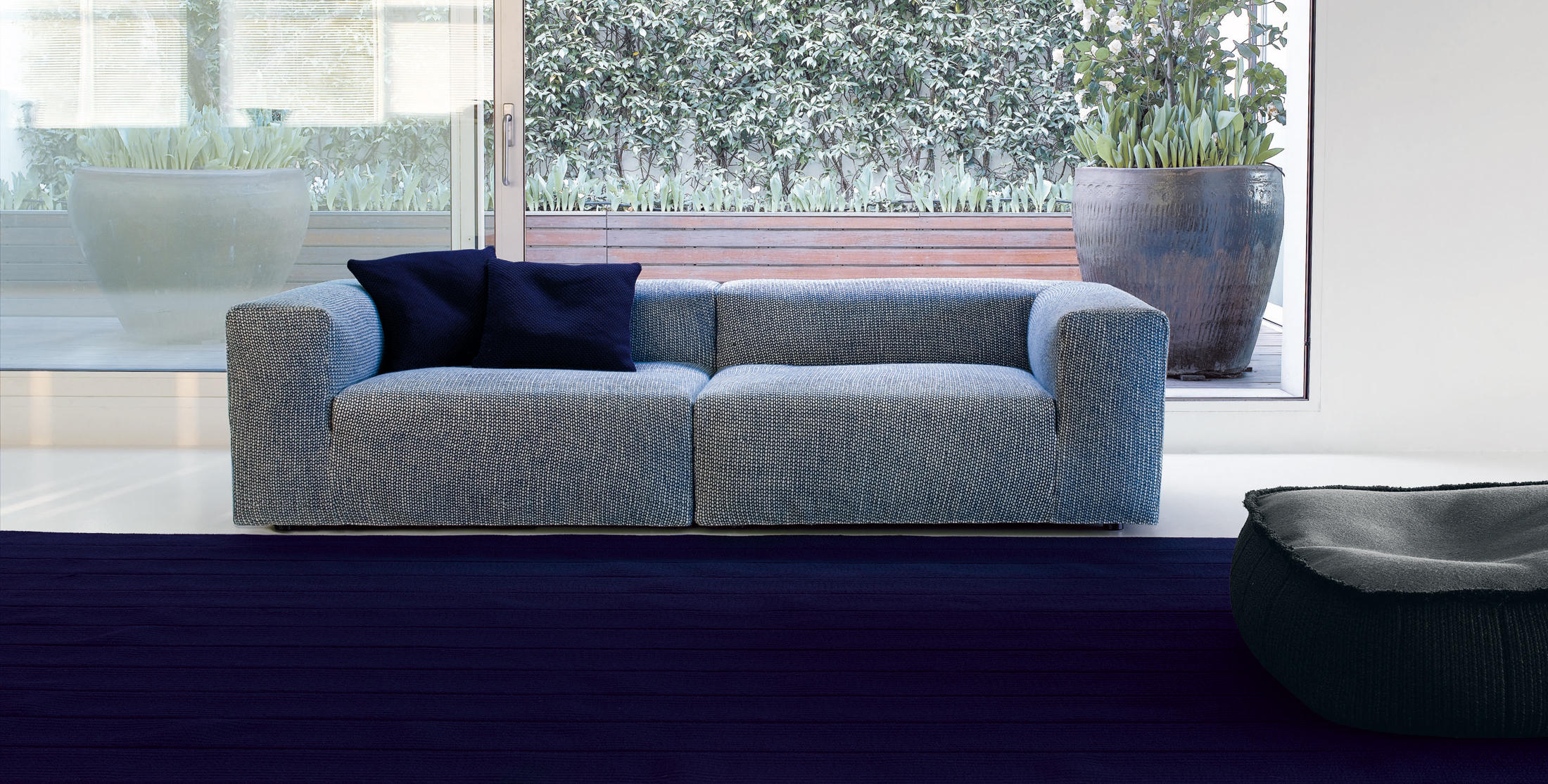Atollo m loungesofas von paola lenti architonic for Prostoria divani