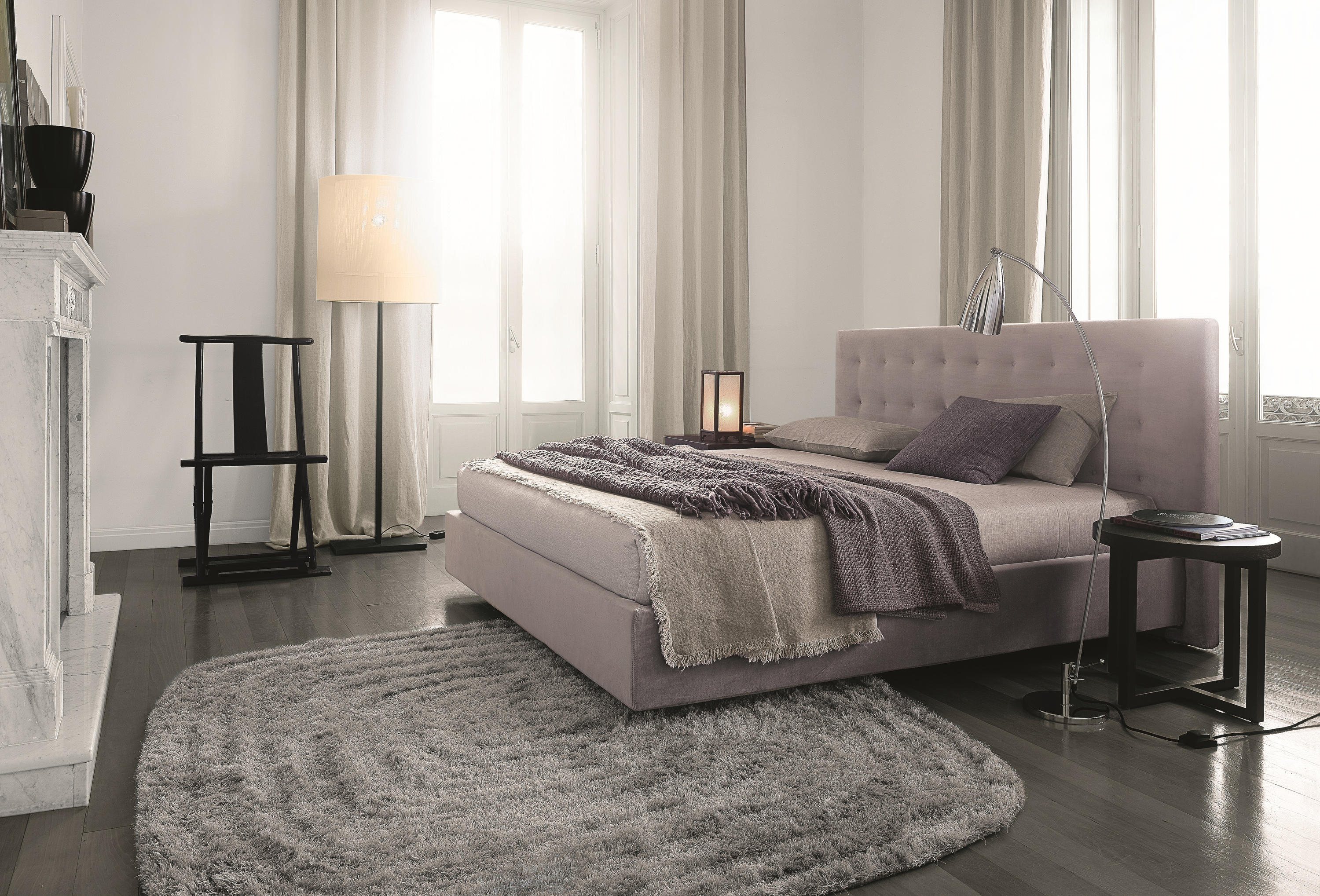 Arca bed double beds from poliform architonic for Letto arca poliform