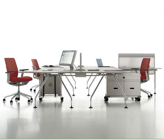 ad hoc office bureaux de vitra architonic. Black Bedroom Furniture Sets. Home Design Ideas