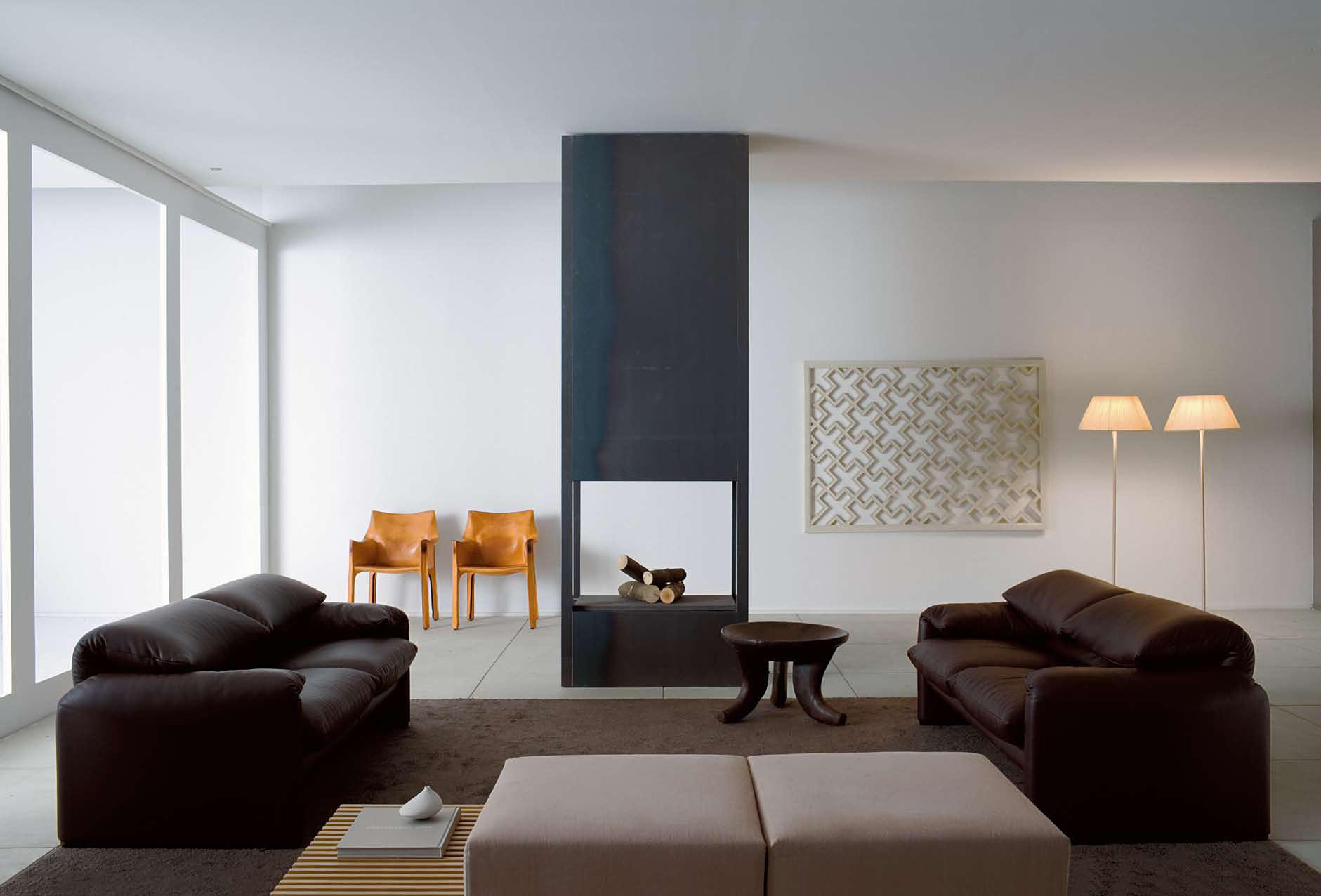 675 maralunga 40 canap s d 39 attente de cassina architonic. Black Bedroom Furniture Sets. Home Design Ideas