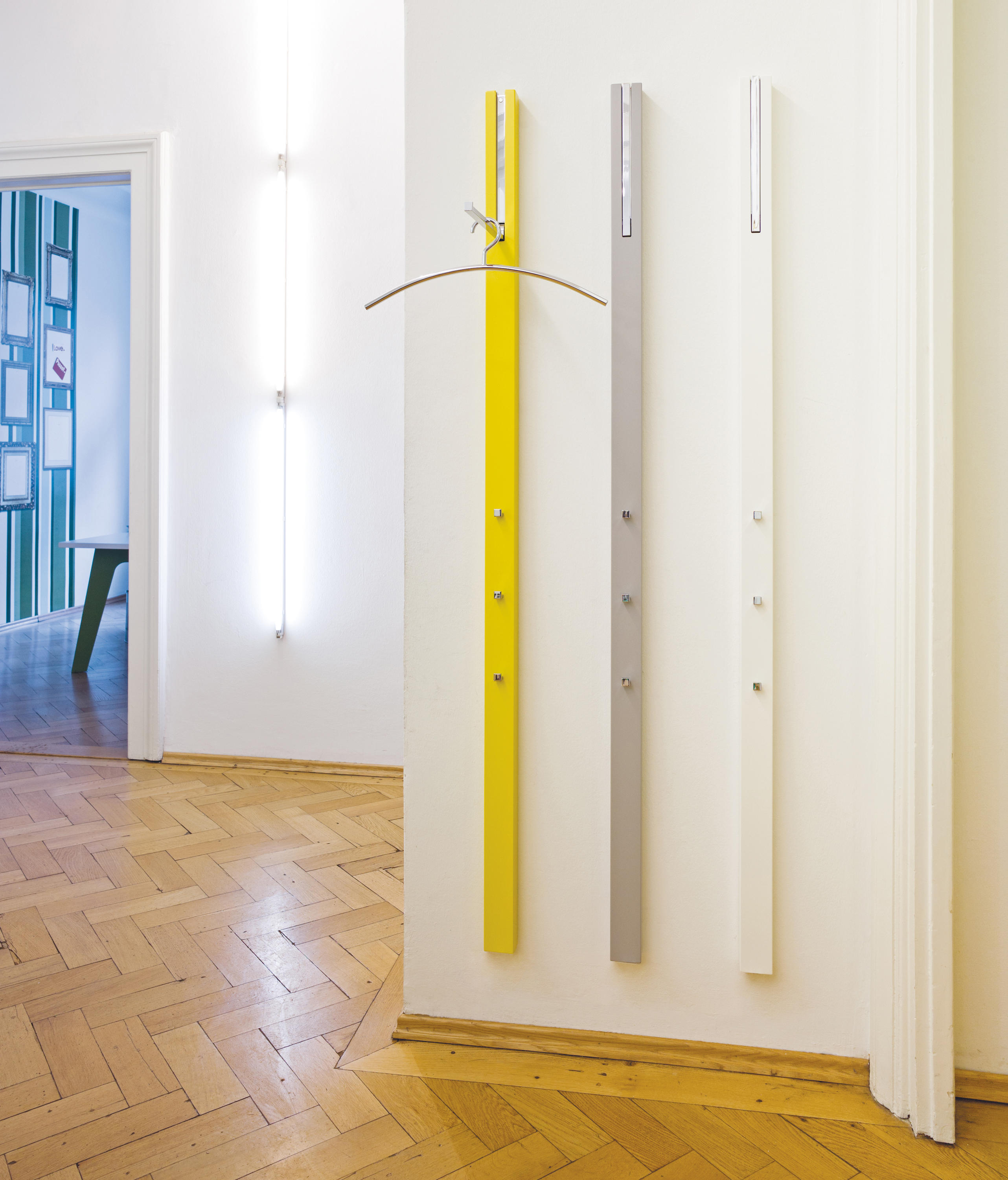 ... LINE Wall Coat Storage Unit By Schönbuch ...