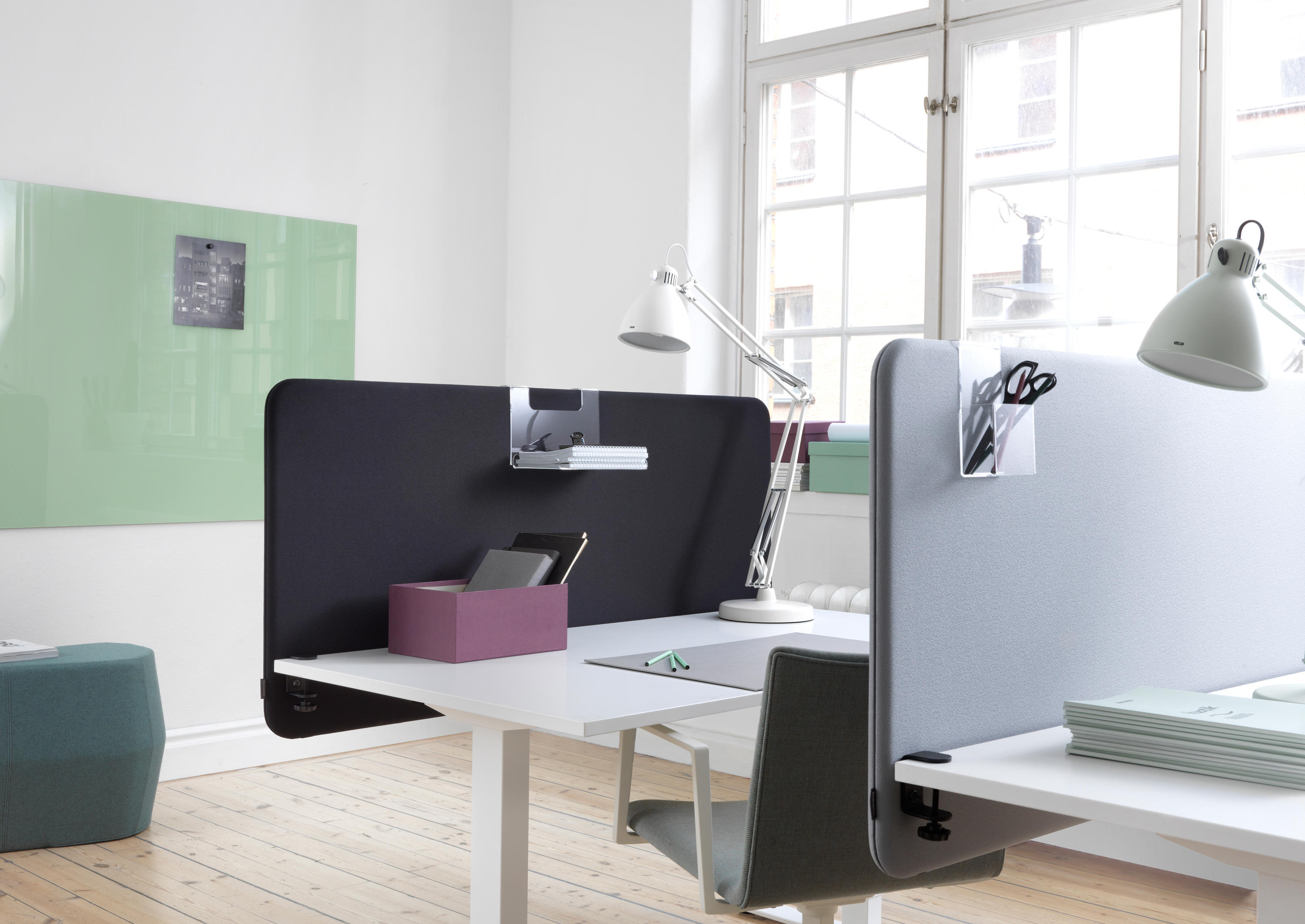 SOFTLINE™ TABLE SCREEN - Table dividers from Abstracta ...
