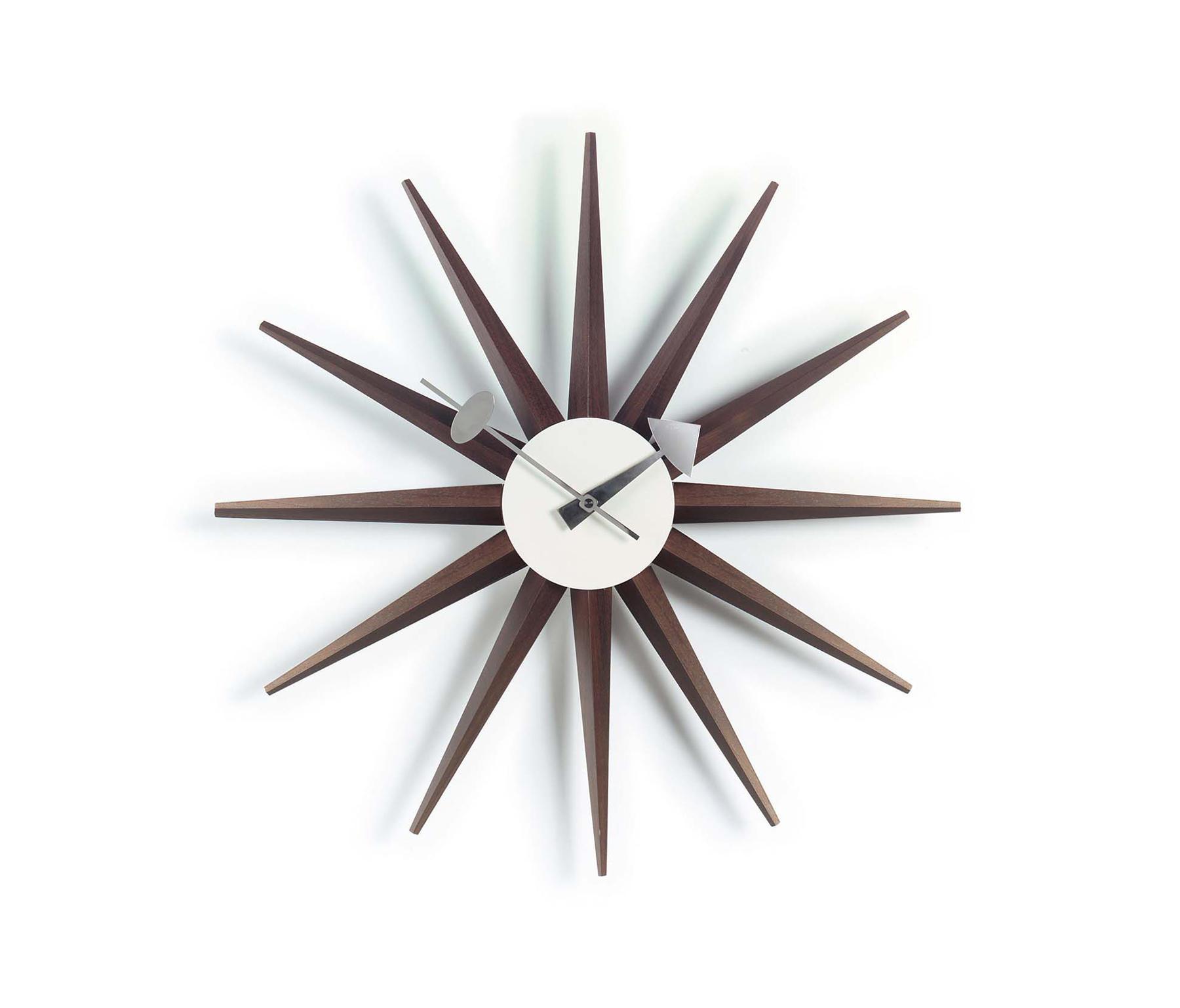 Sunburst Clock Uhren Von Vitra Architonic
