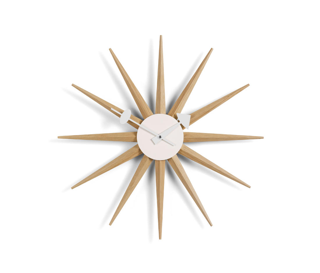 sunburst clock uhren von vitra architonic. Black Bedroom Furniture Sets. Home Design Ideas