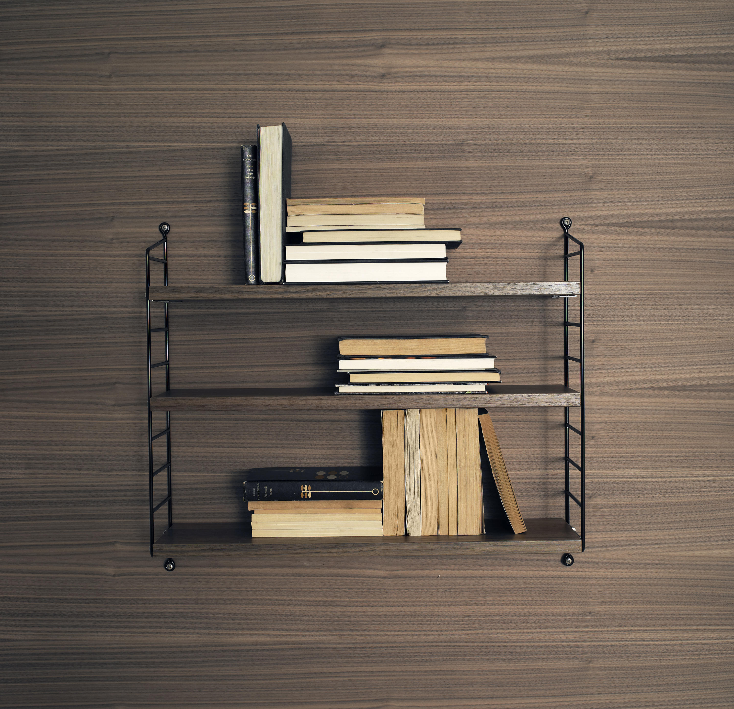 string pocket copper shelving from string furniture architonic. Black Bedroom Furniture Sets. Home Design Ideas