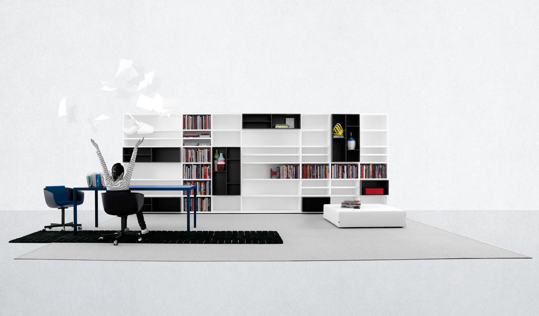 WALL SYSTEM - Wall storage systems from Poliform | Architonic