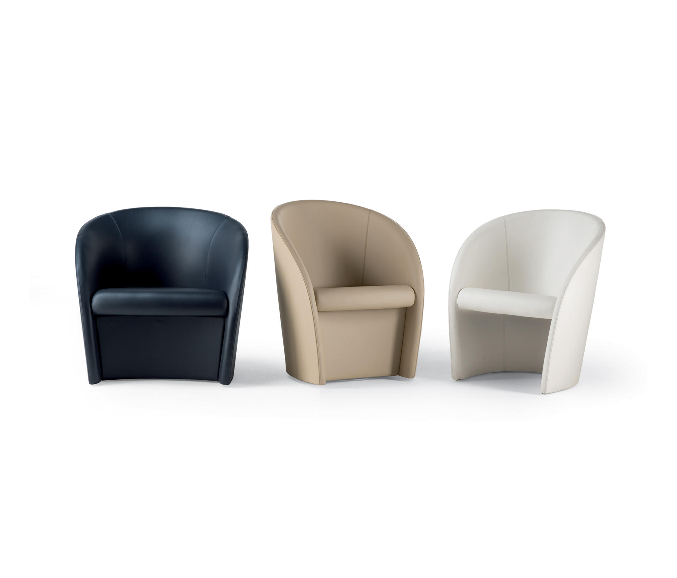 intervista lounge chairs from poltrona frau architonic. Black Bedroom Furniture Sets. Home Design Ideas