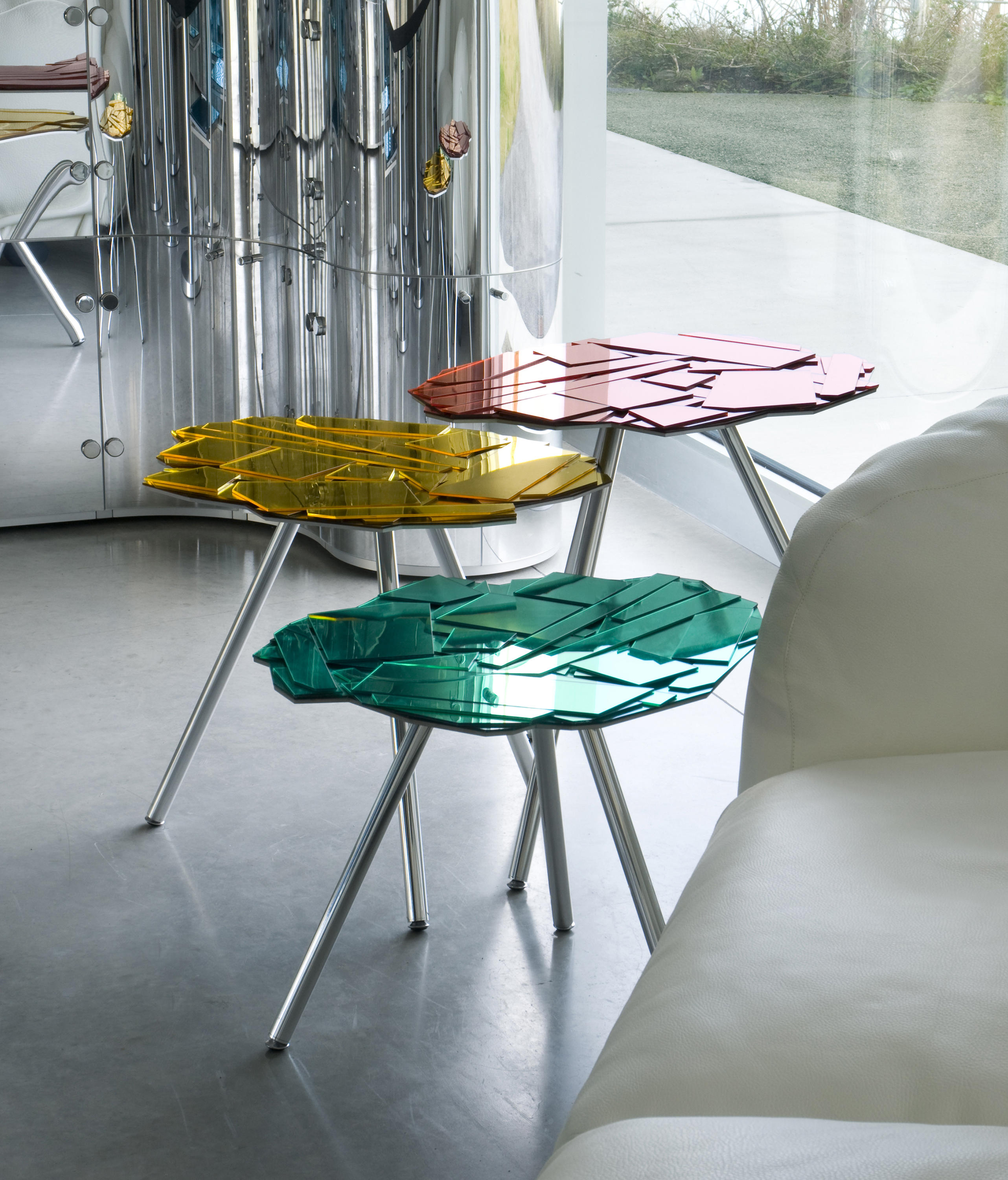 BRASILIA Nesting tables from edra