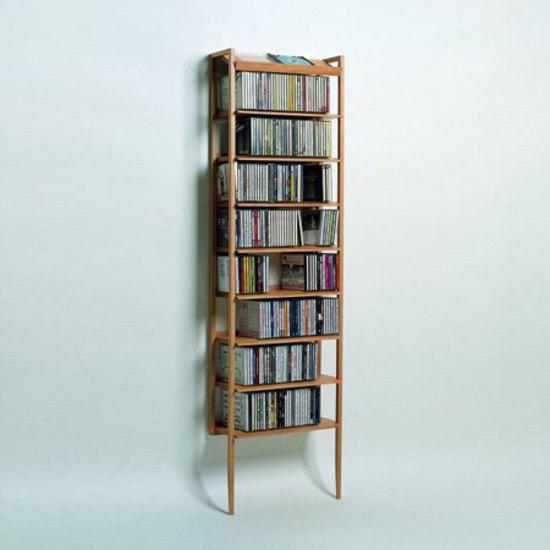 Porta cd scaffali woodesign architonic - Scaffali porta cd ...