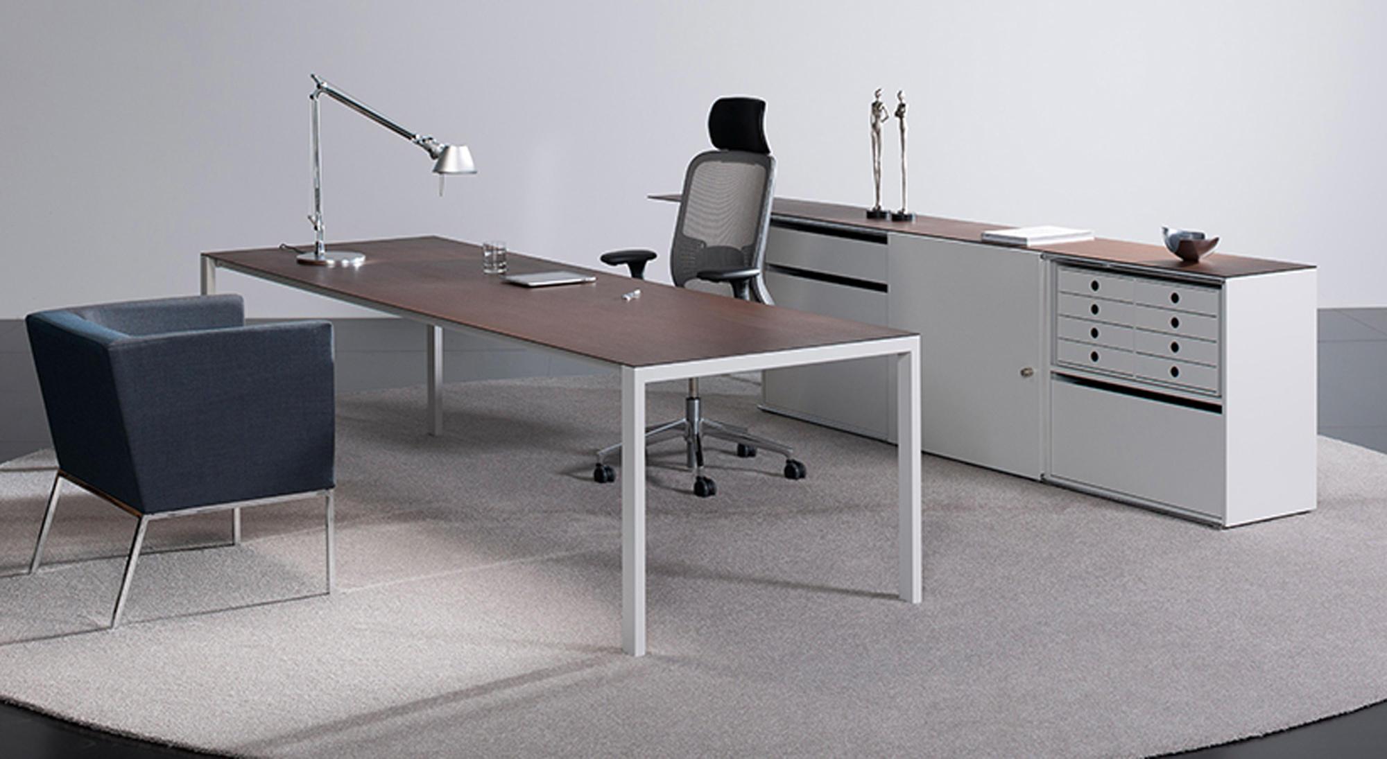 Lean Bureaux Individuels De Bigla Office Architonic # Table De Jardin Bigla