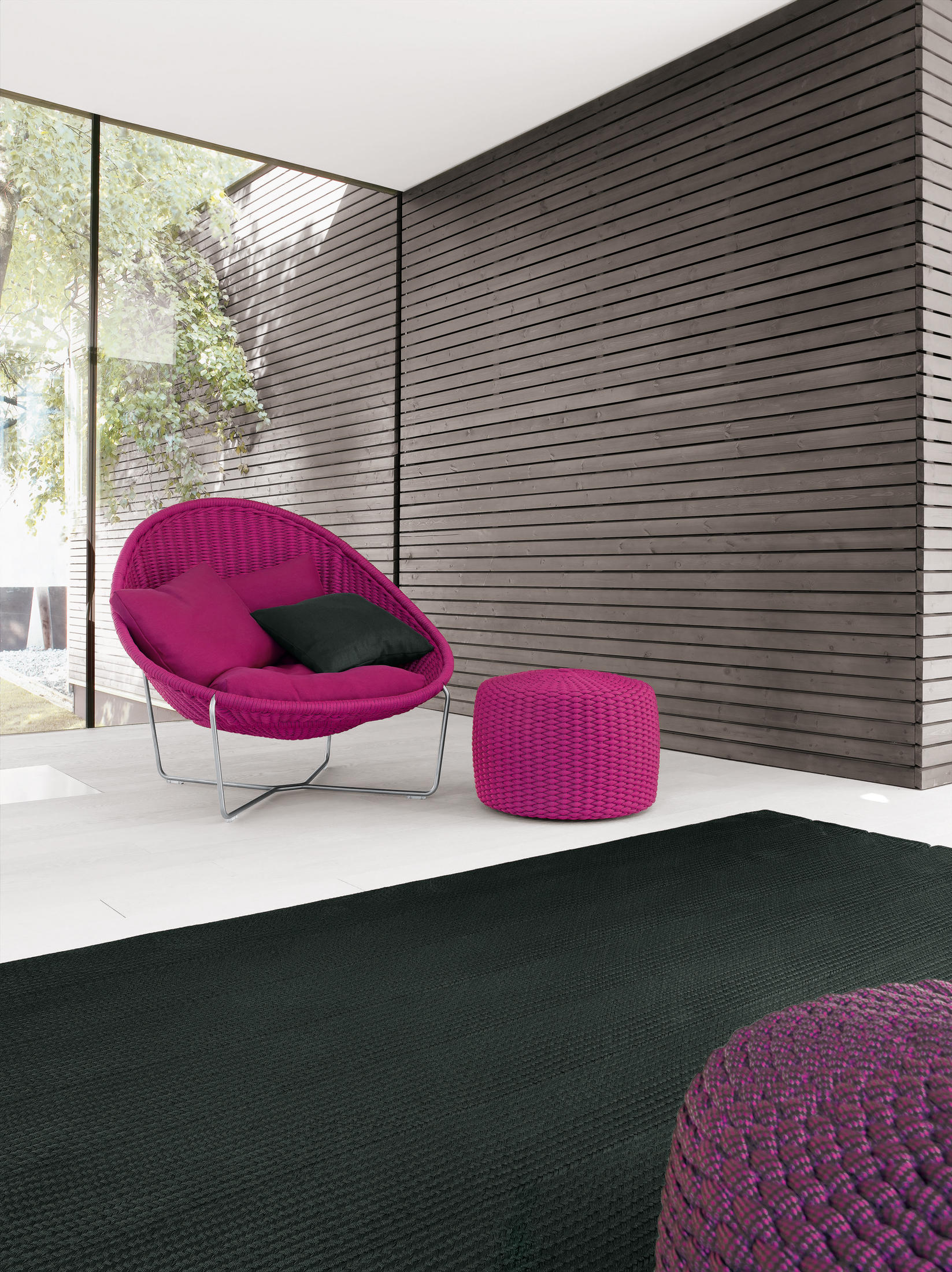 nido garden stools from paola lenti architonic. Black Bedroom Furniture Sets. Home Design Ideas