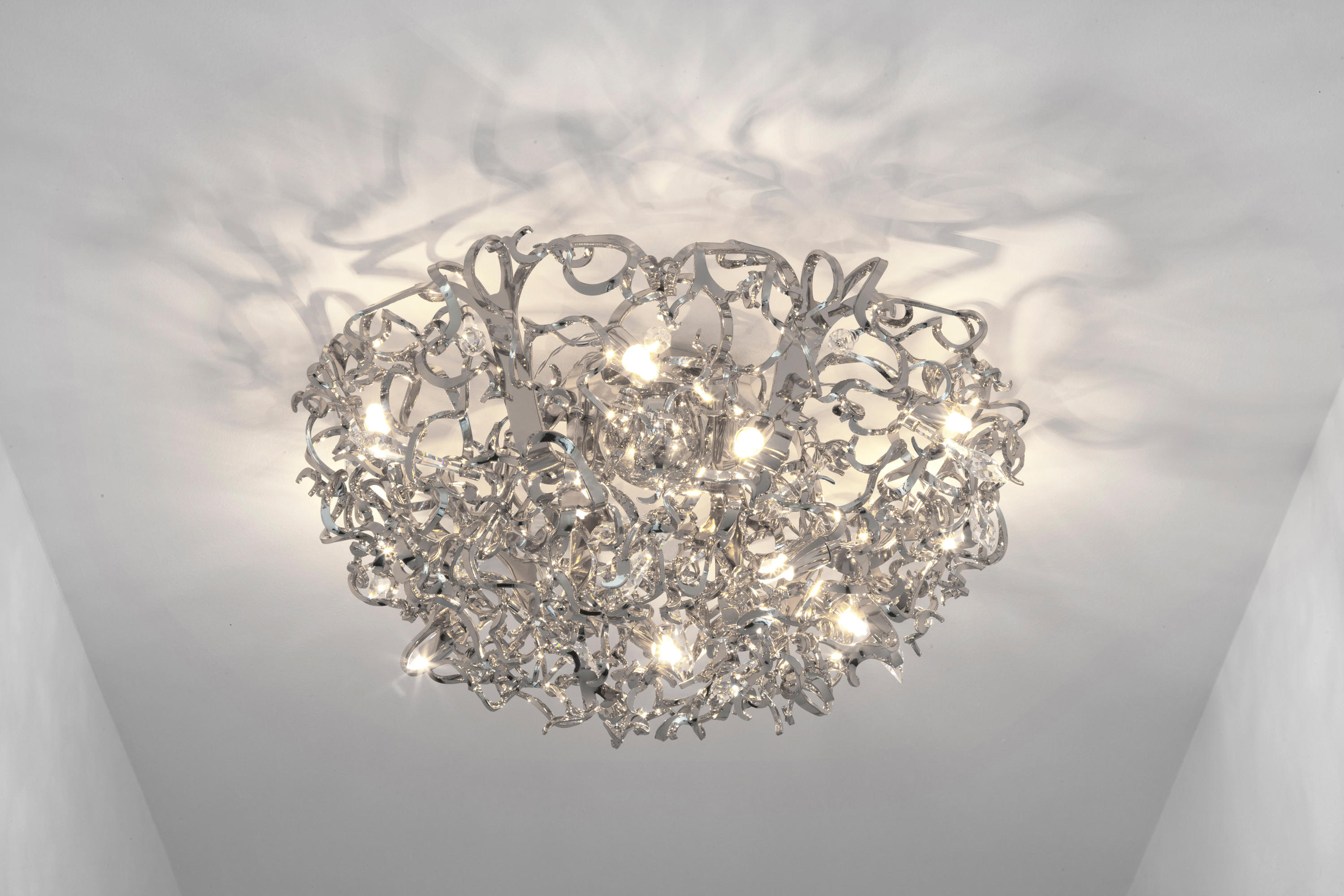 icy lady chandelier ceiling suspended chandeliers from. Black Bedroom Furniture Sets. Home Design Ideas