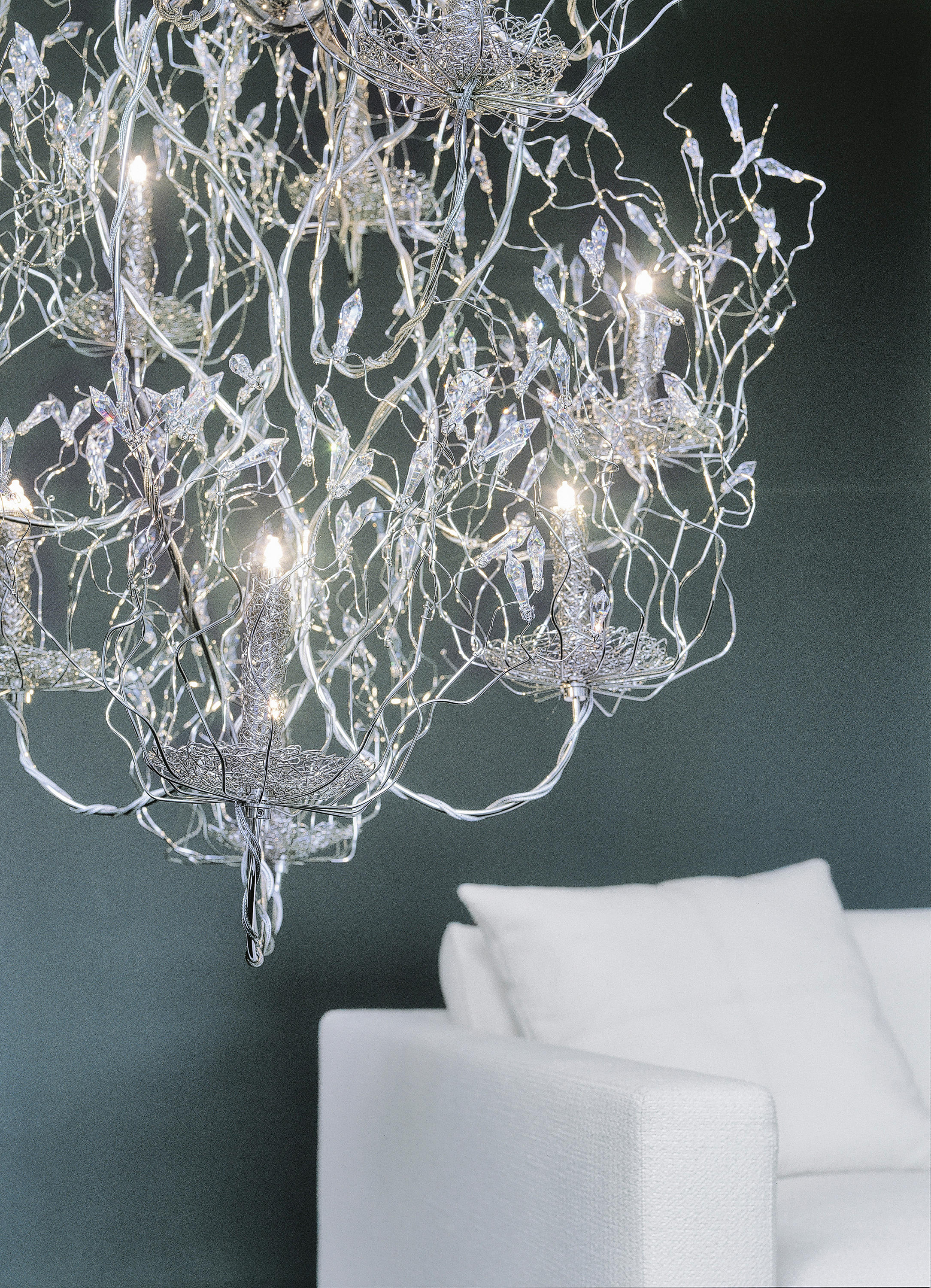 candles and spirits chandelier ceiling suspended. Black Bedroom Furniture Sets. Home Design Ideas