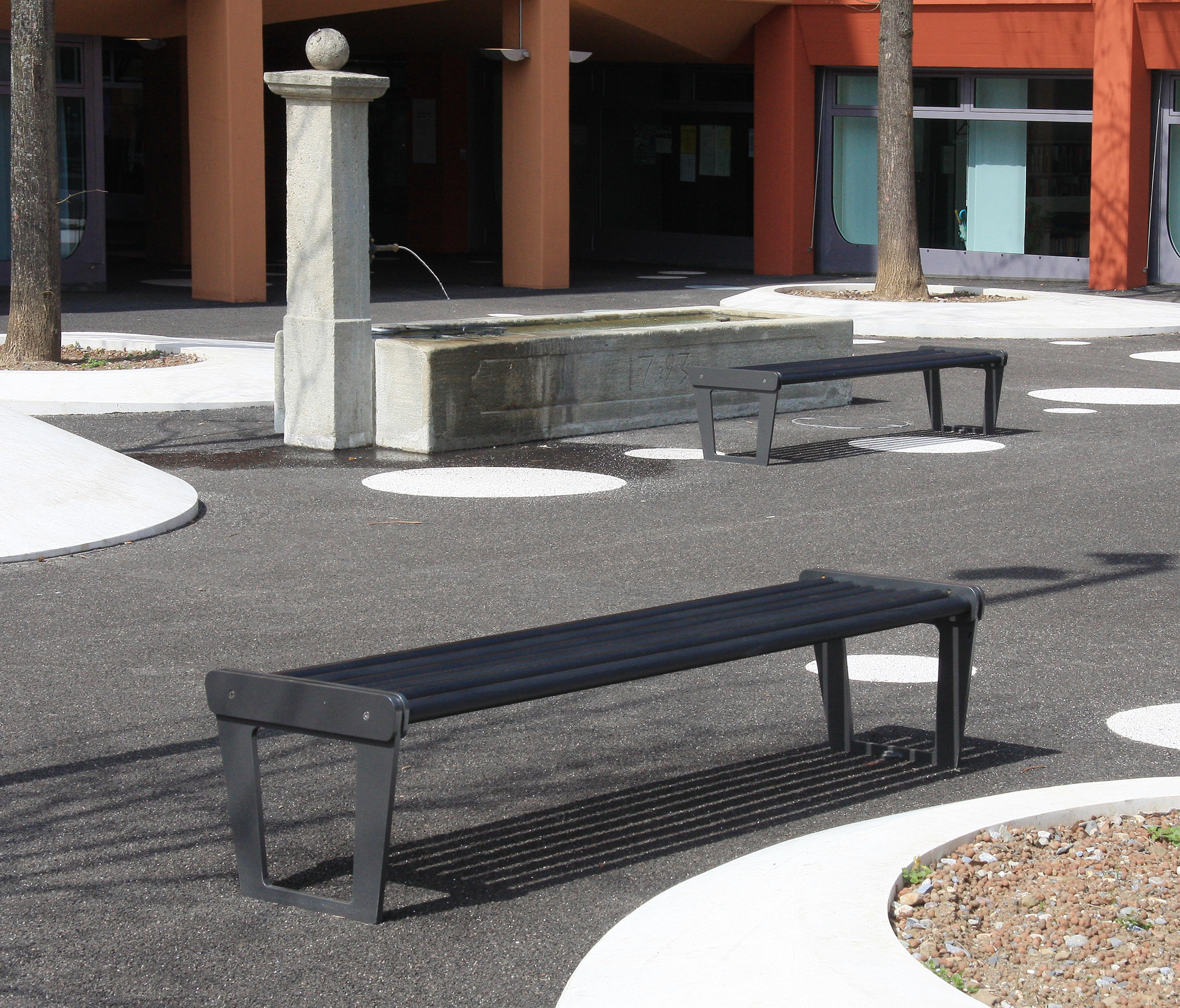 CITY BENCH TYPE V WITH BACKREST - Exterior benches from ...