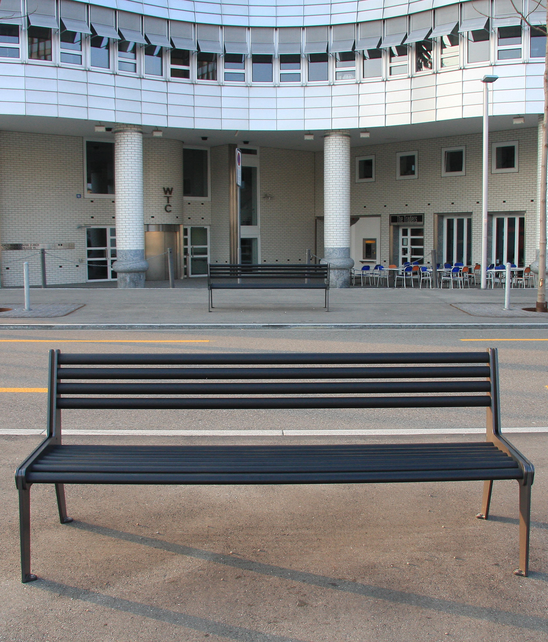 CITY BENCH TYPE A WITHOUT BACKREST, STANDARD - Benches ...