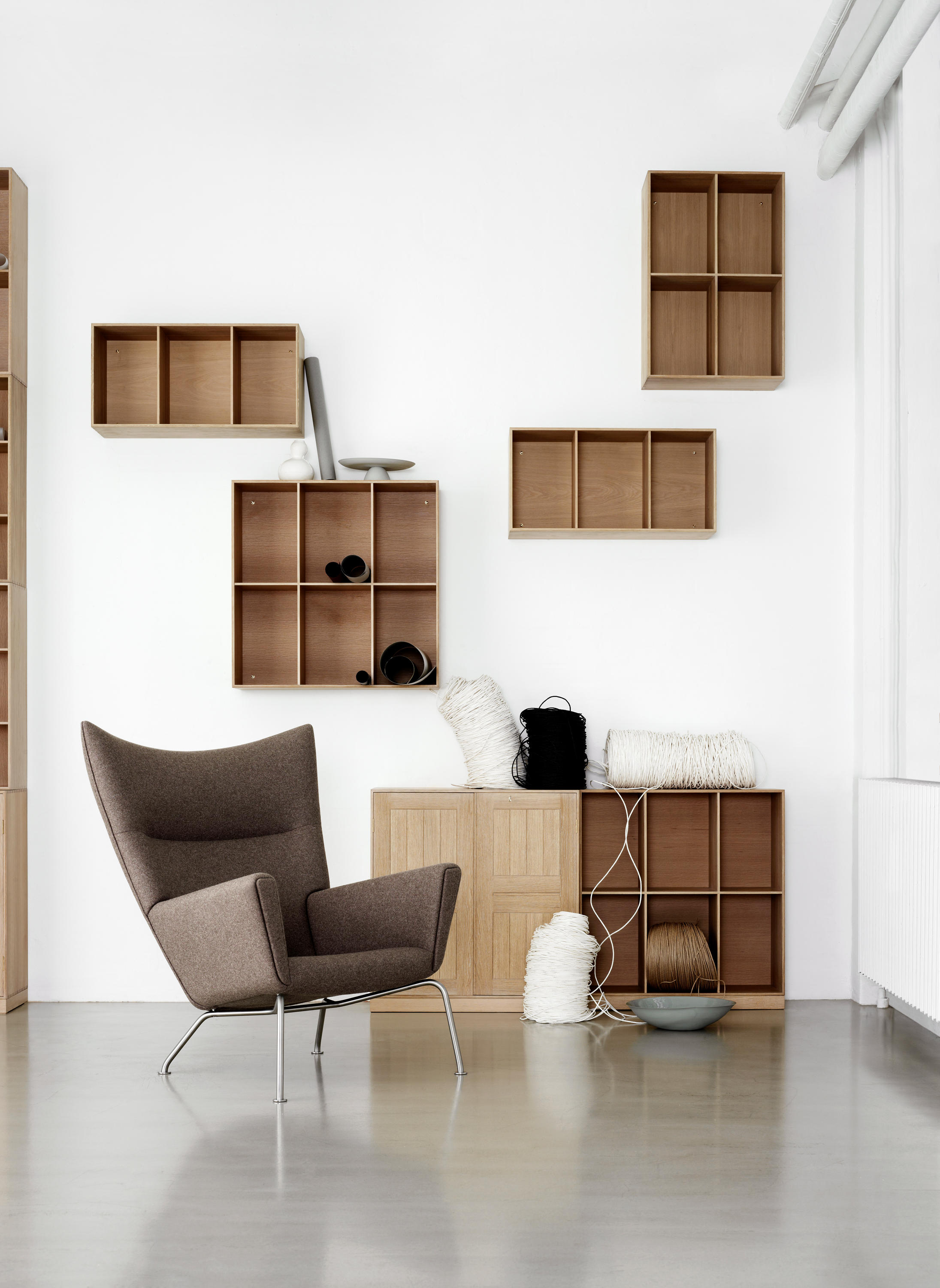 CH445 WING CHAIR - Lounge chairs from Carl Hansen & Søn | Architonic