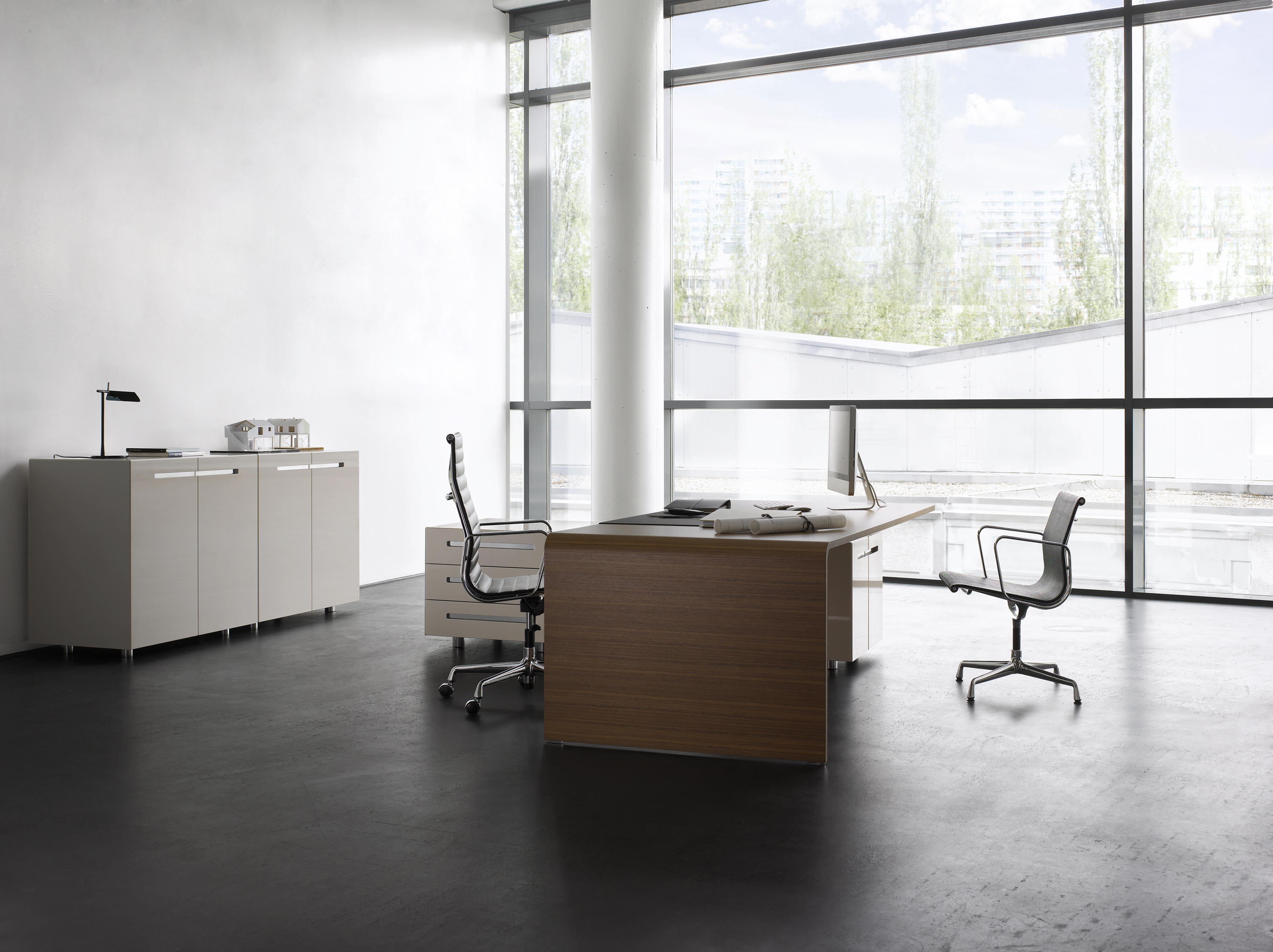 LANE OFFICE TABLE - Executive desks from RENZ | Architonic
