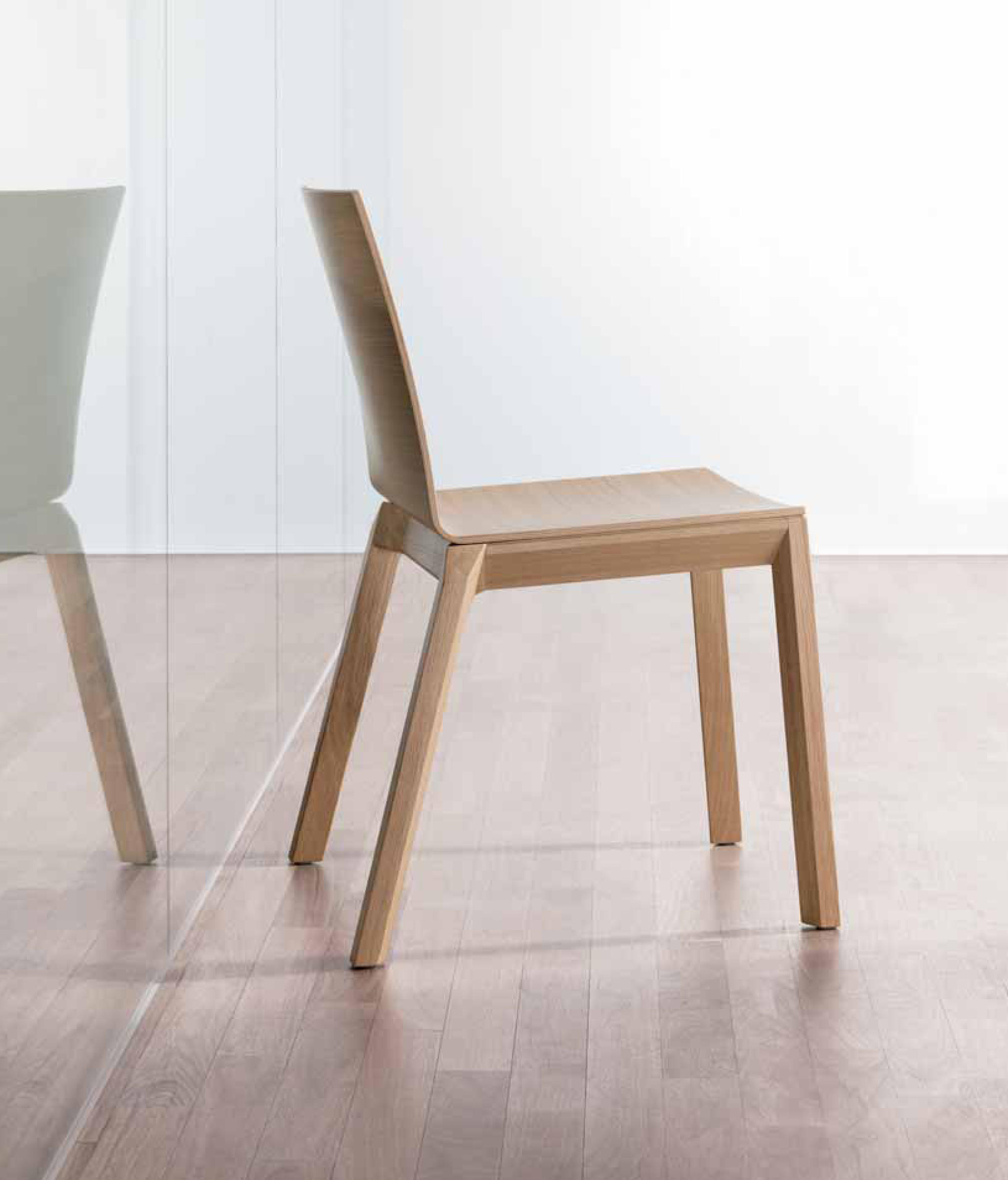 ... Arta Stacking Chair With Arms By Wiesner Hager ...