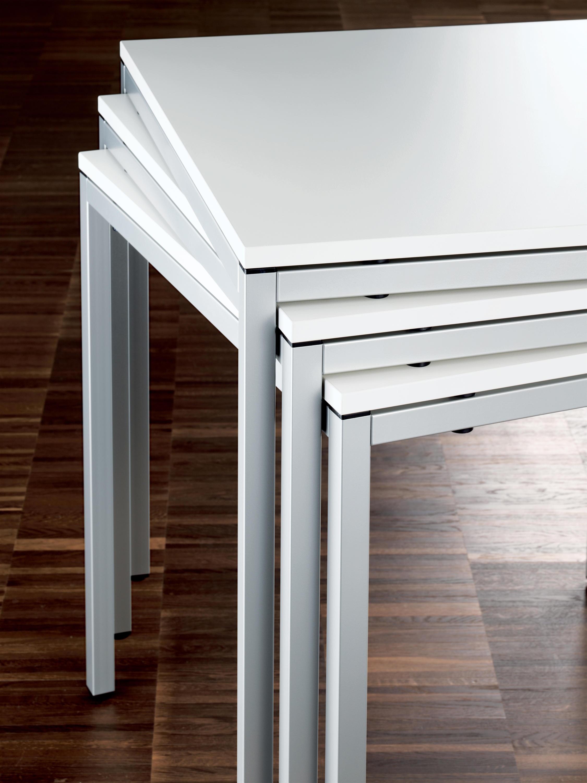 clip rechteck tisch objekttische von wiesner hager architonic. Black Bedroom Furniture Sets. Home Design Ideas